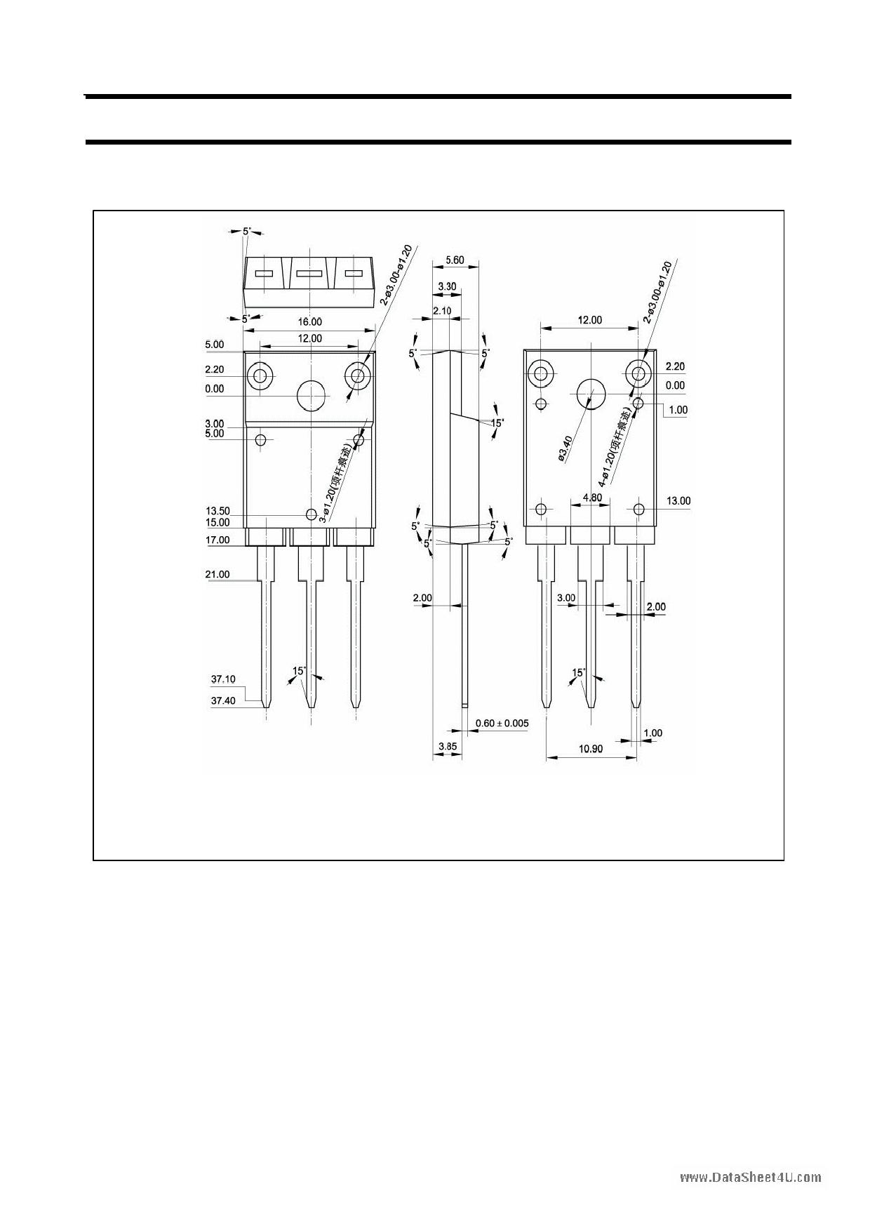 A1907 pdf, ピン配列