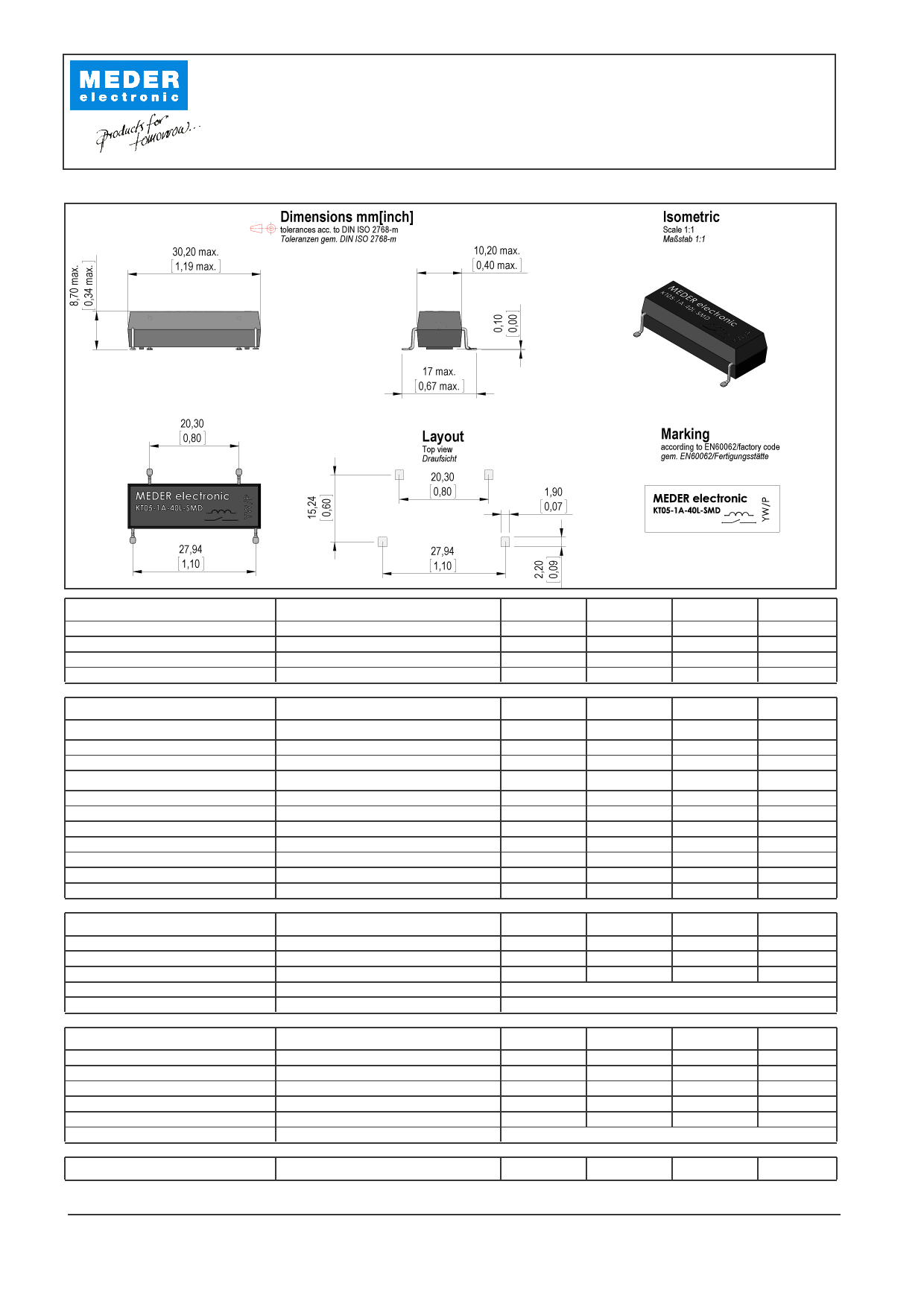 KT05-1A-40L-SMD دیتاشیت PDF