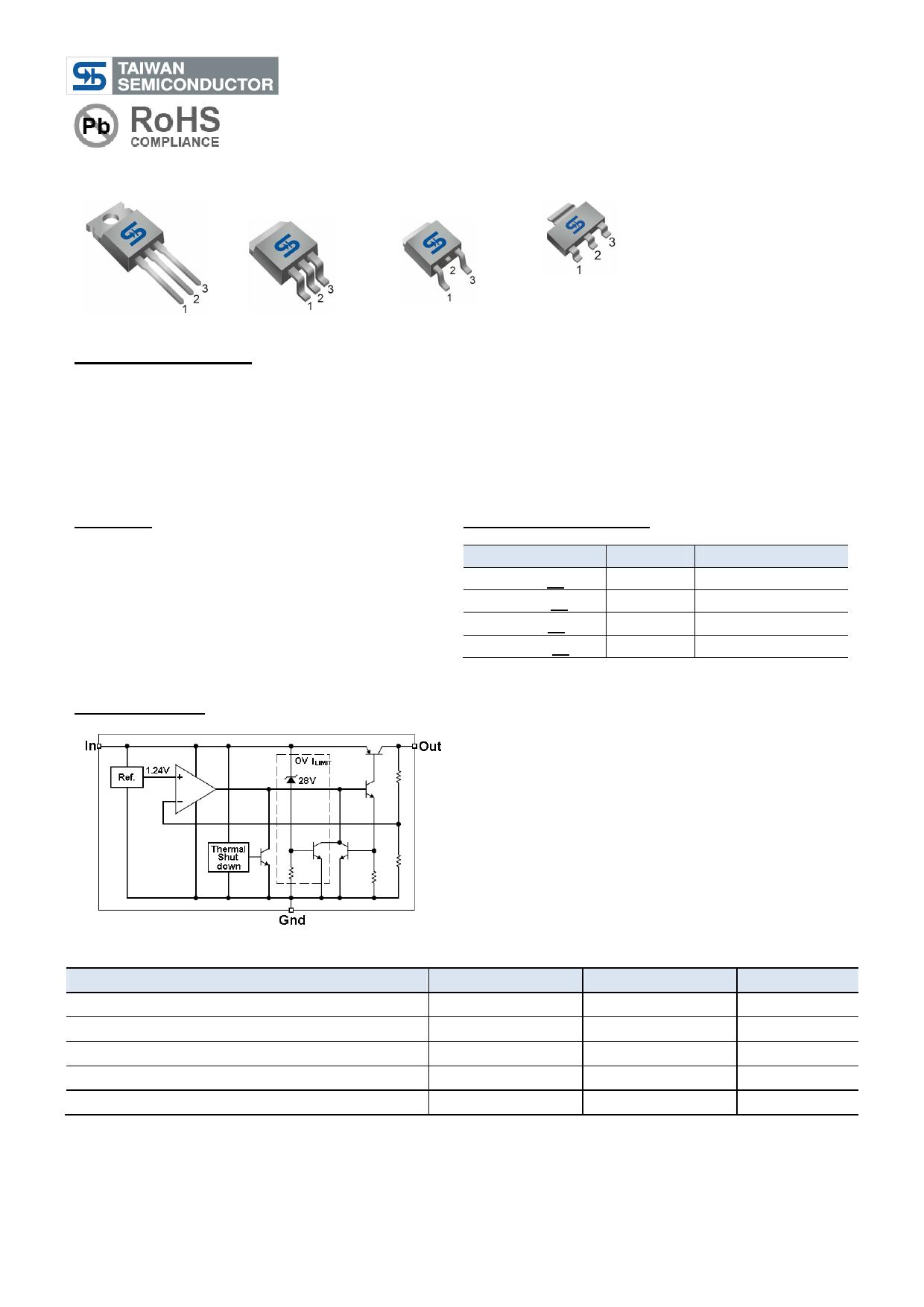 TS2937 Datasheet, TS2937 PDF,ピン配置, 機能