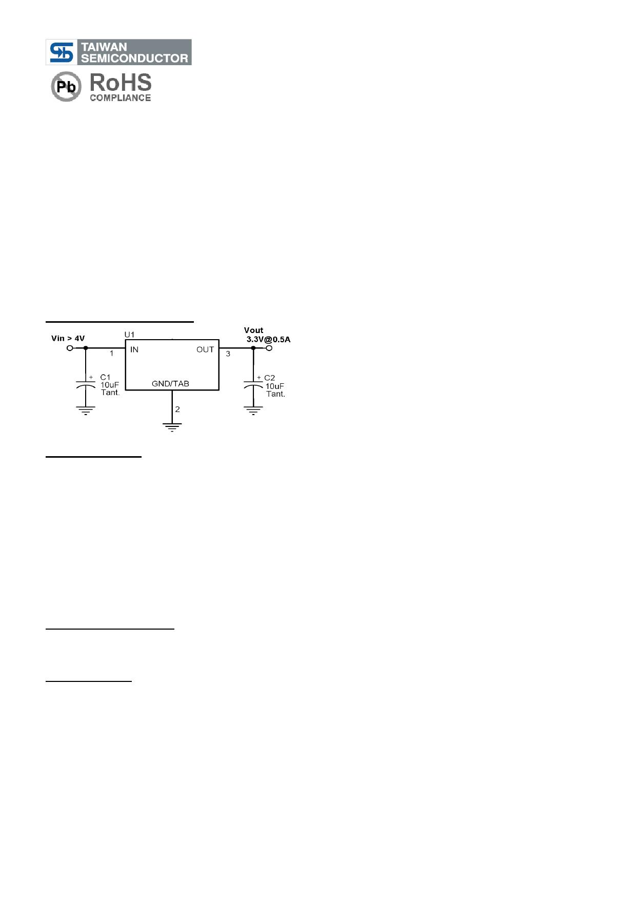 TS2937 pdf, ピン配列