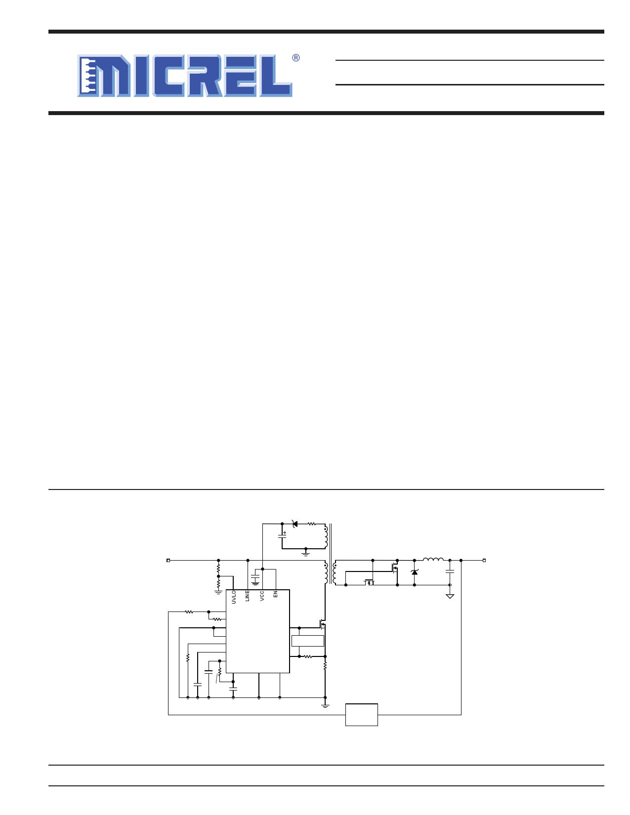 MIC9130 Datasheet
