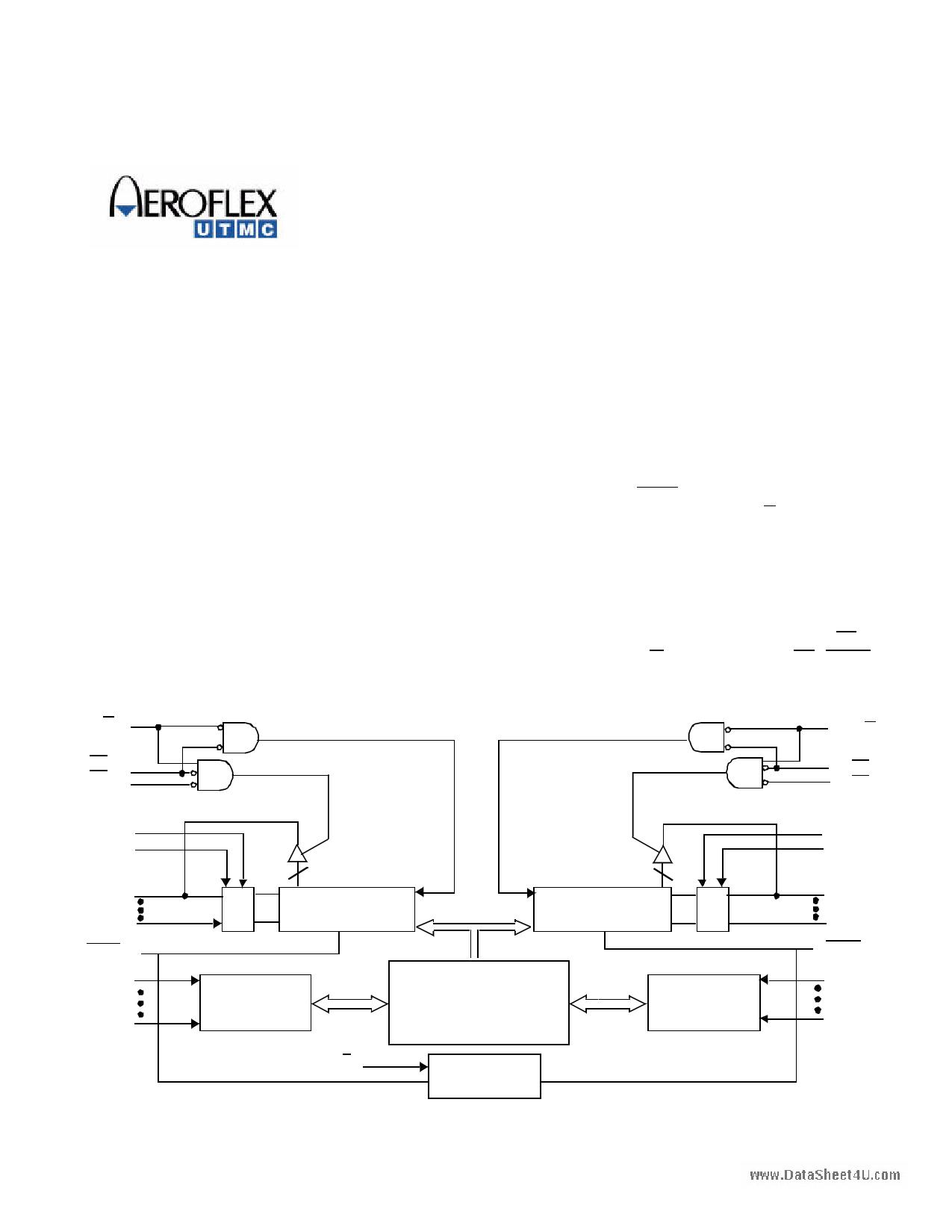 UT7C138 دیتاشیت PDF