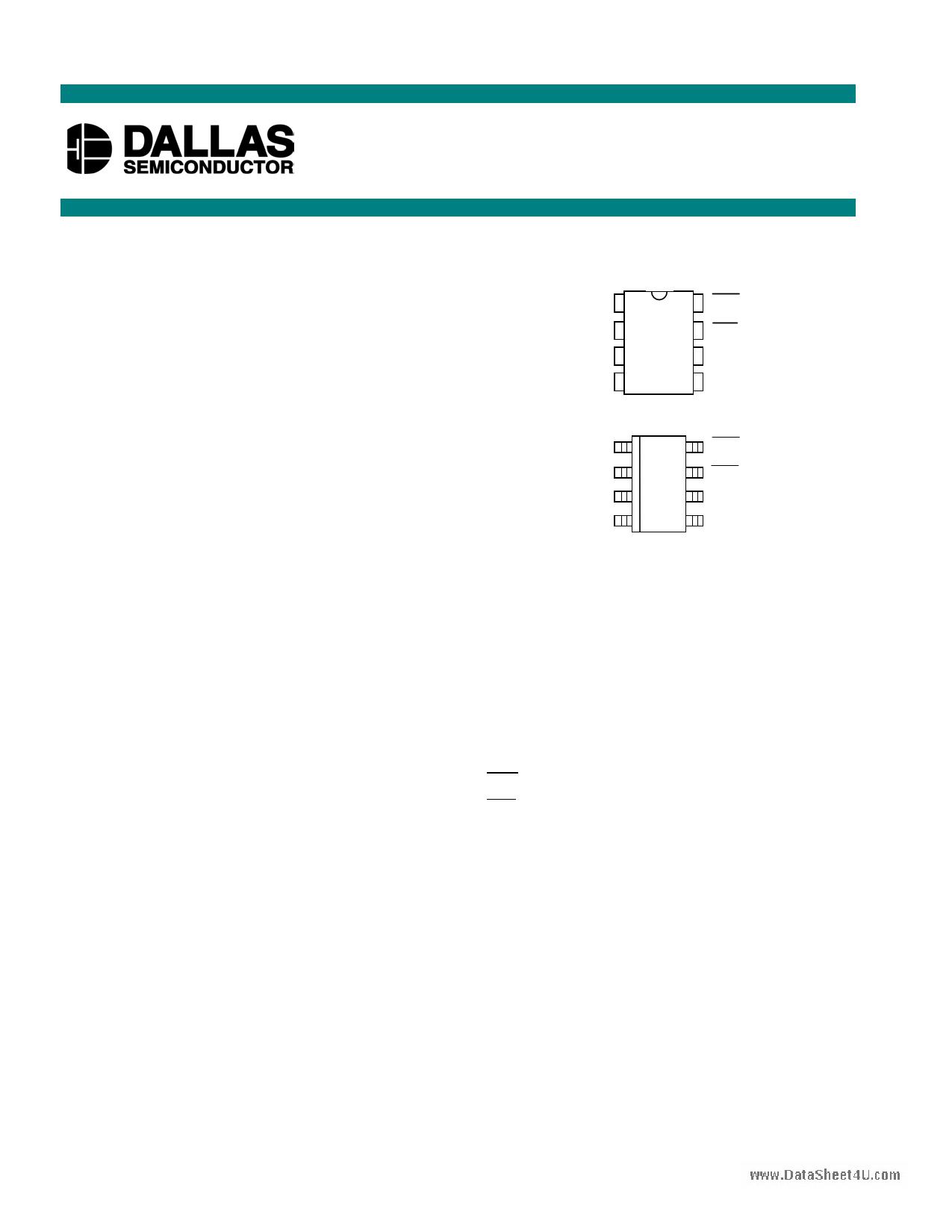 DS1836D دیتاشیت PDF