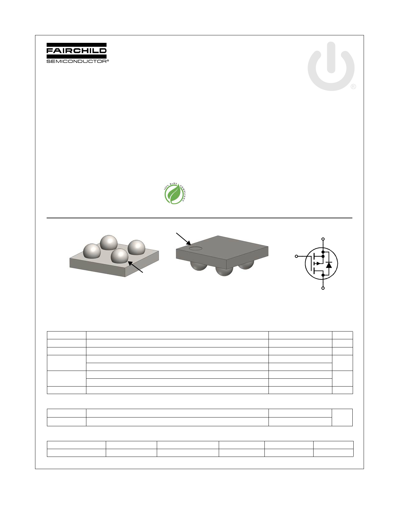 FDZ663P 데이터시트 및 FDZ663P PDF