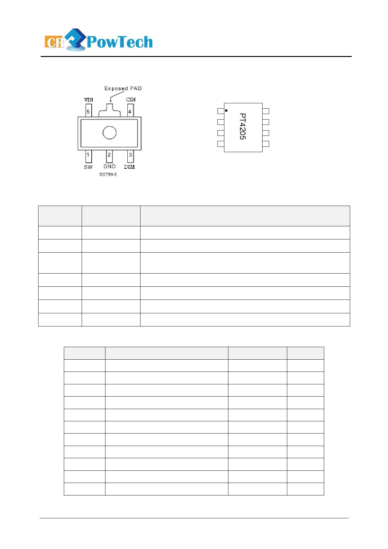 Даташит микросхема pt4115 89e