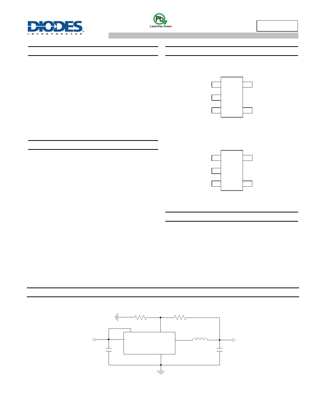 AP3407 Datasheet, ピン配置, 機能