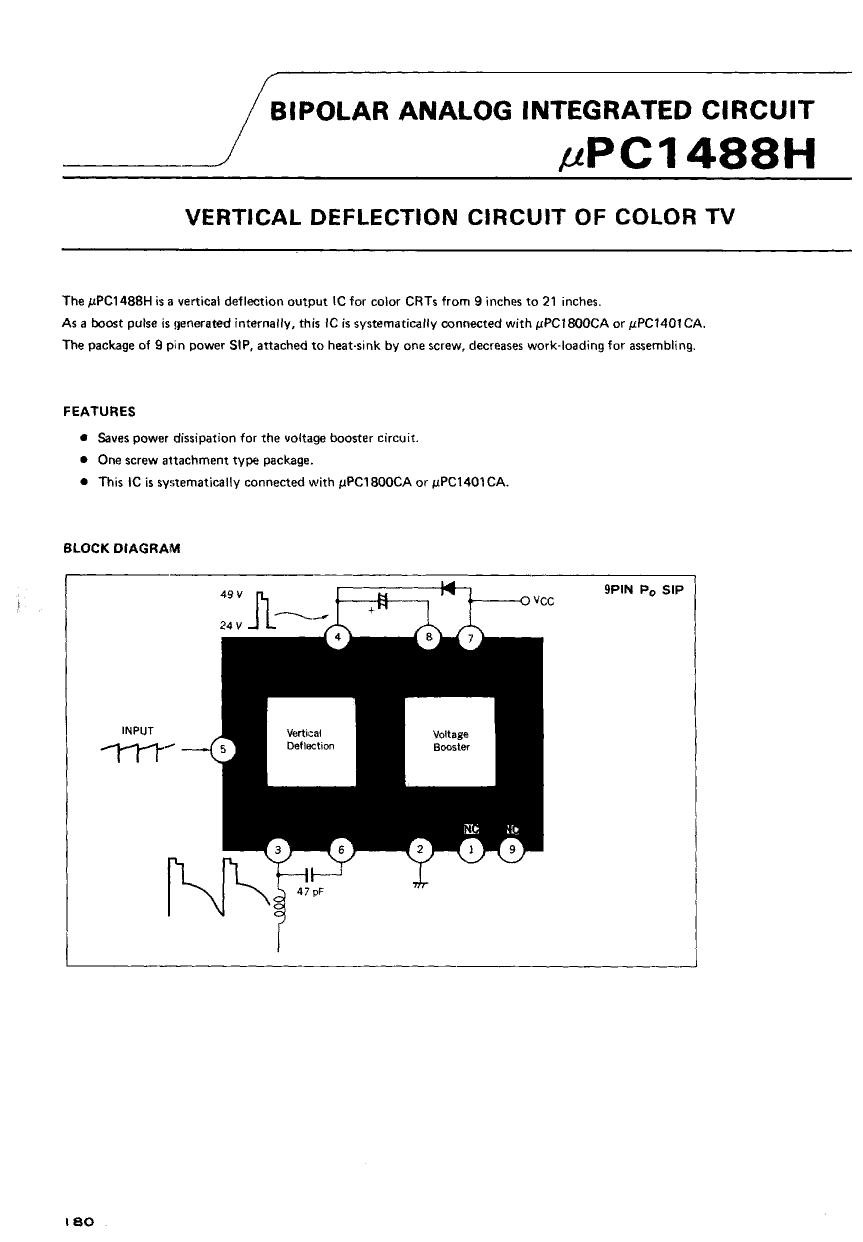 UPC1488H دیتاشیت PDF