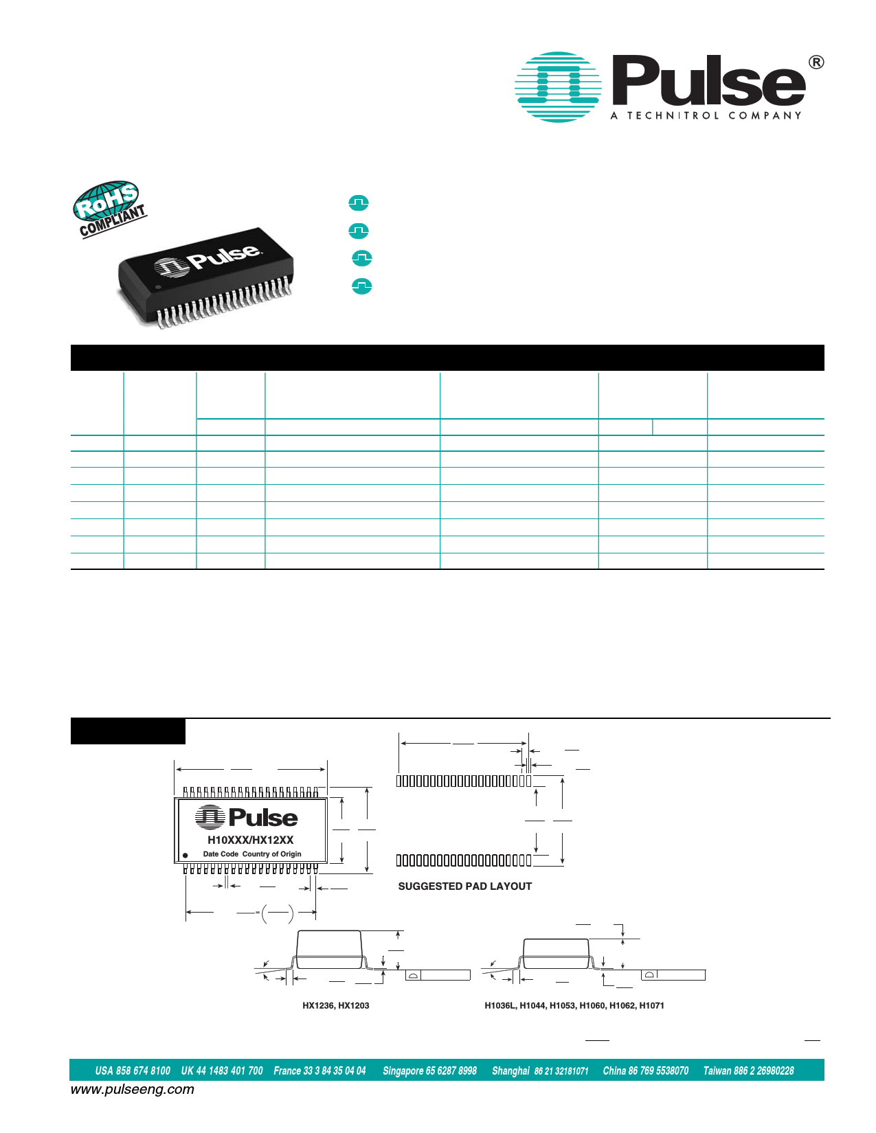 H1044NL دیتاشیت PDF
