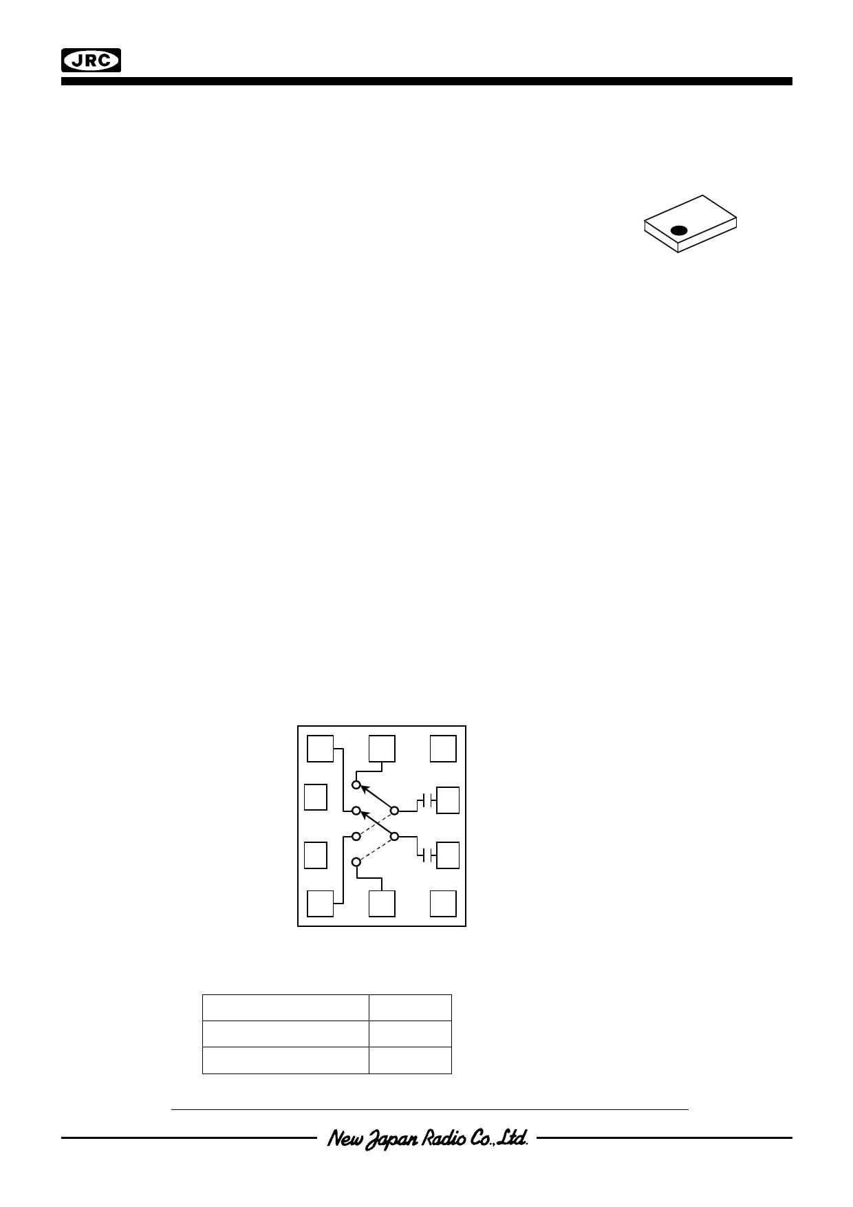 njg1800nb2 datasheet ( high isolation x-spdt (dp4t) switch )