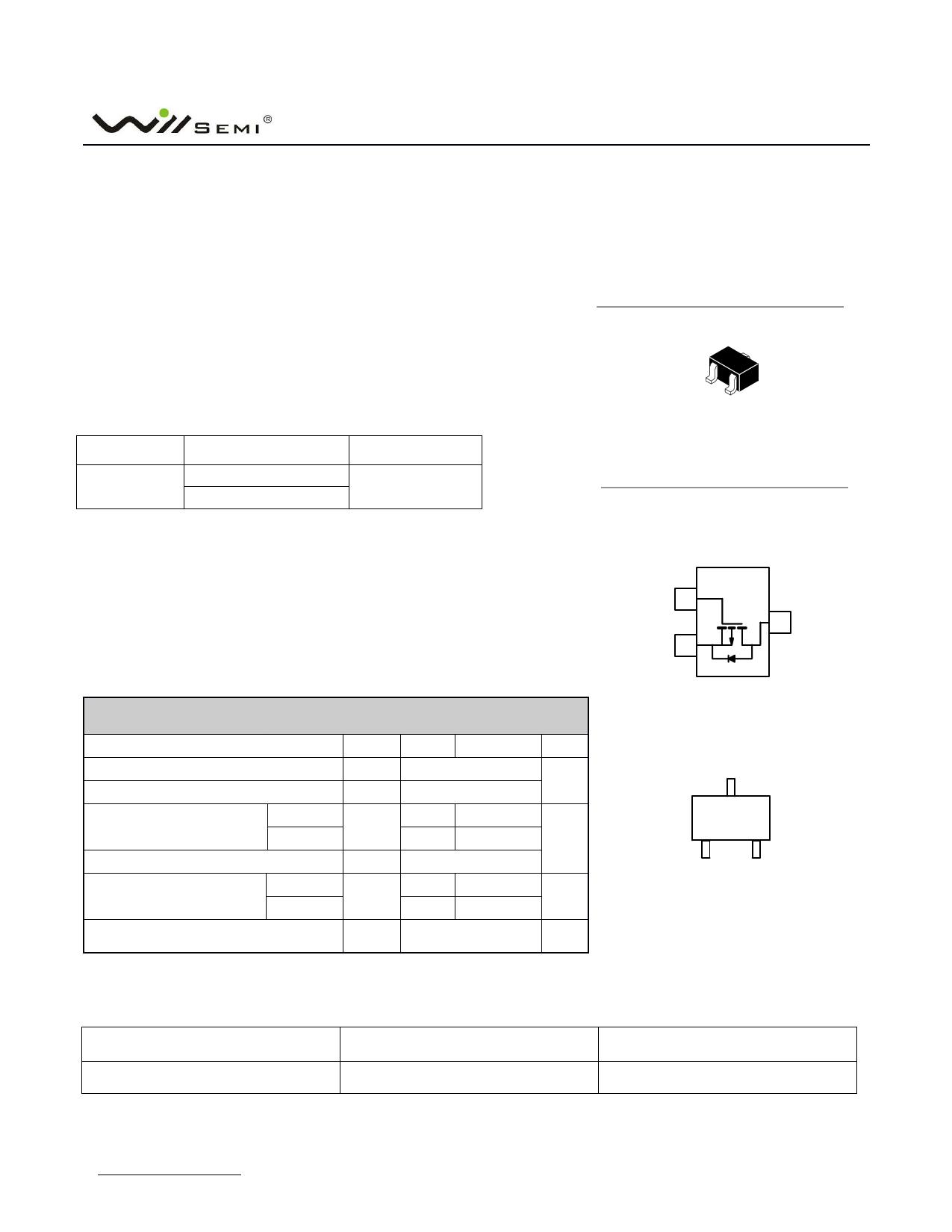 WPM3407 Datenblatt PDF