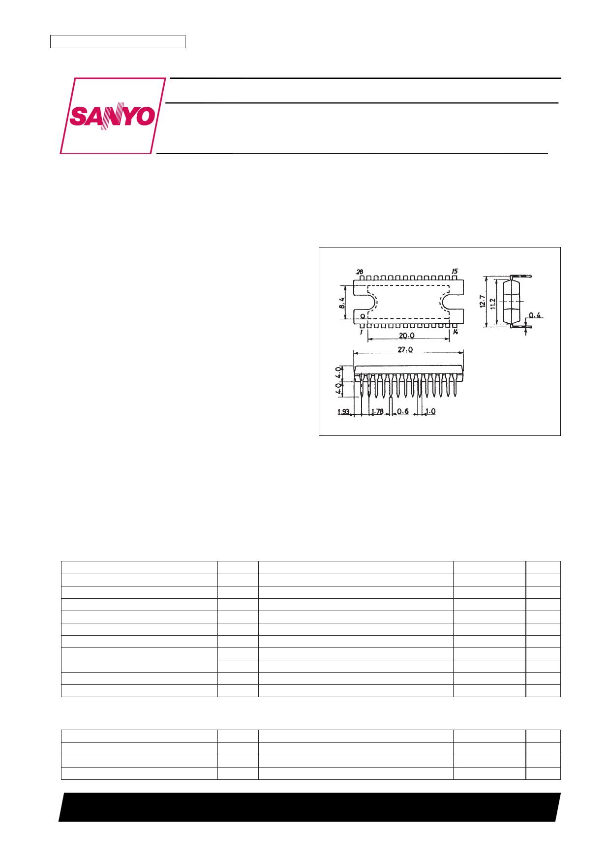 LB1845 datasheet