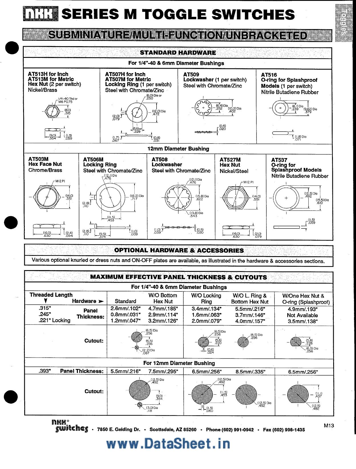 M-203xxx arduino