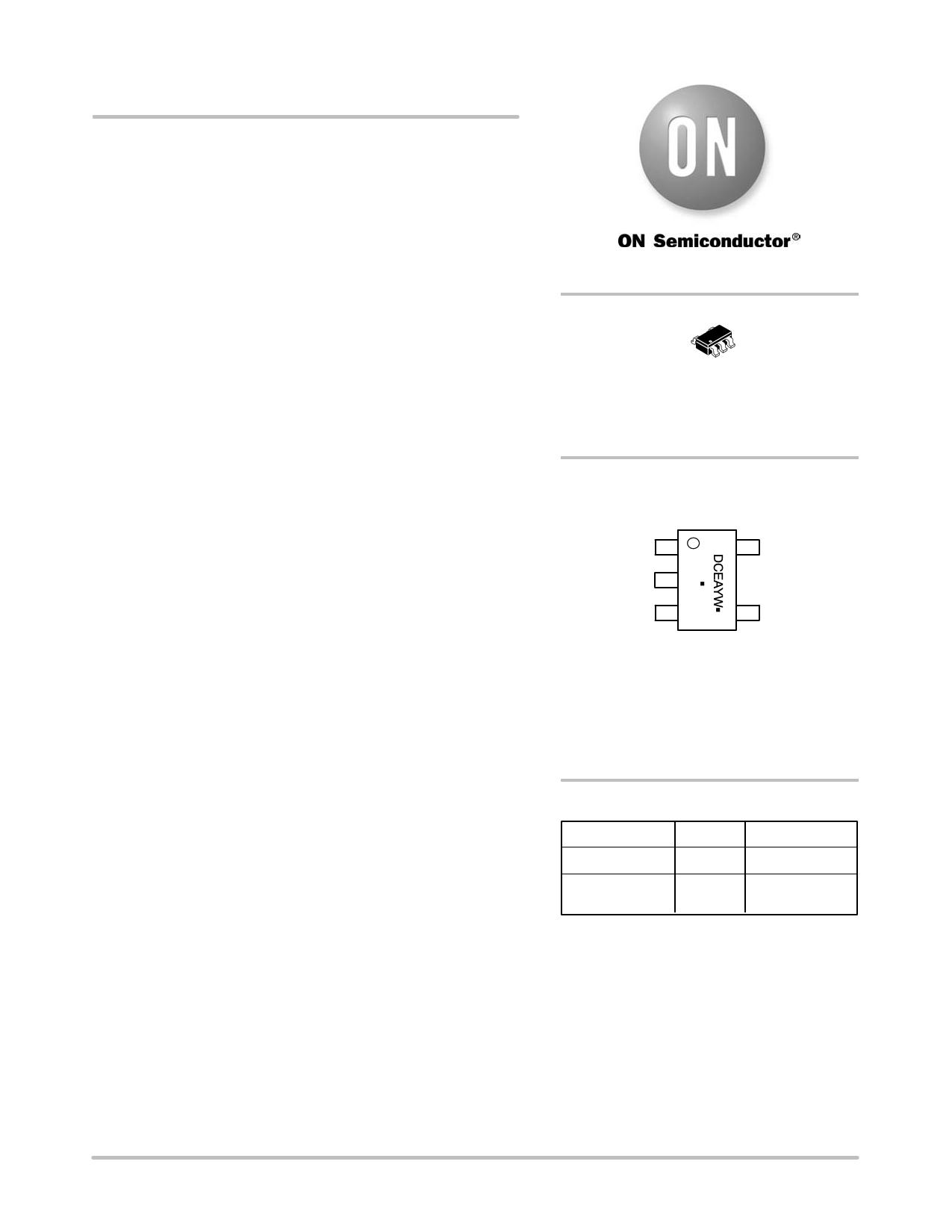 NCP1403 دیتاشیت PDF