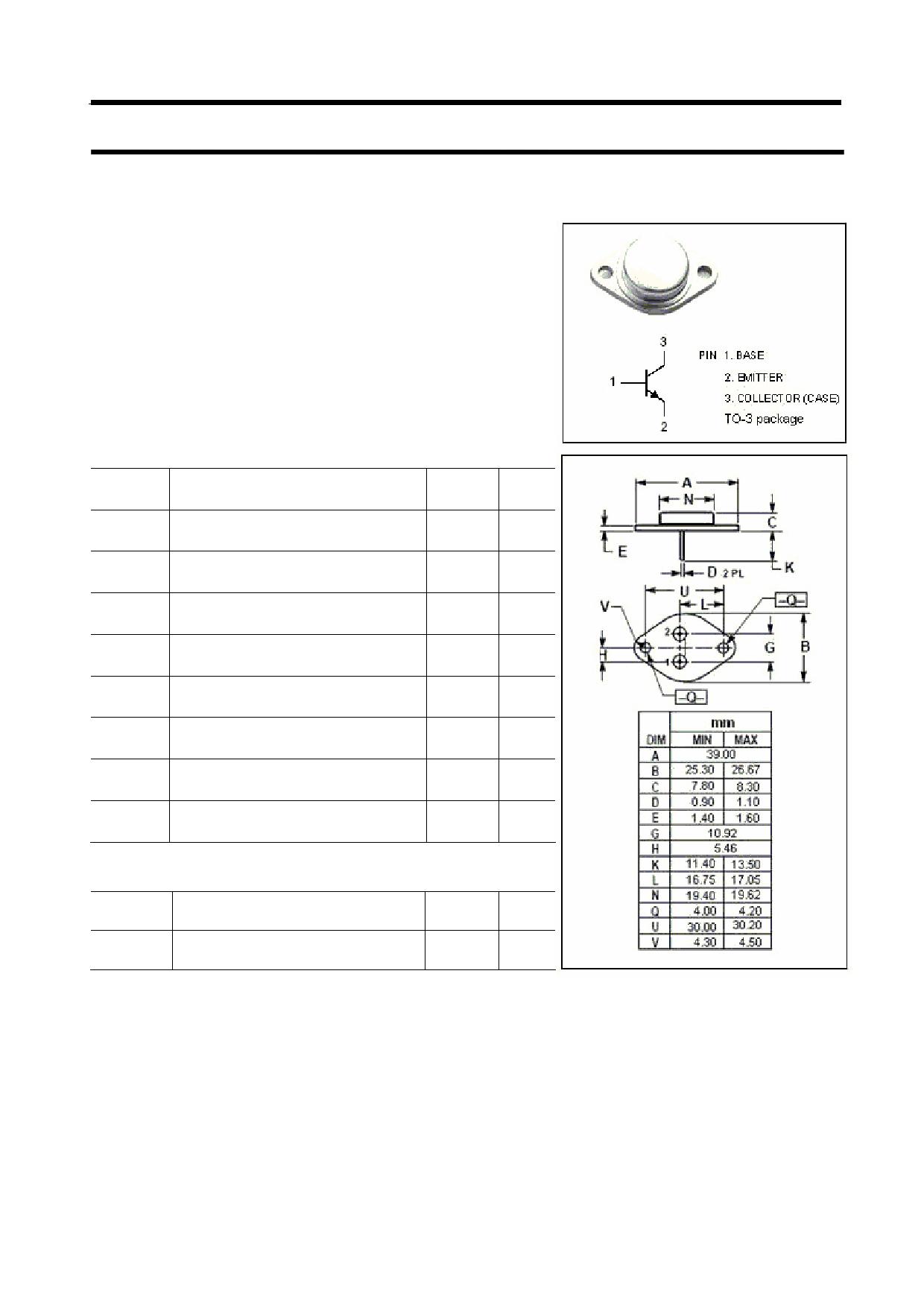 MJ802 دیتاشیت PDF