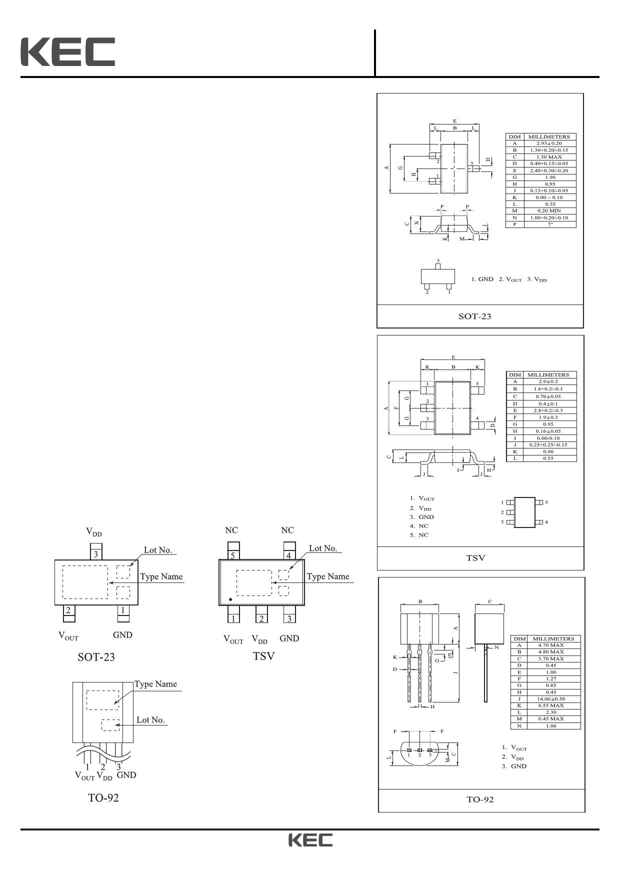 KIC7119 Datasheet, KIC7119 PDF,ピン配置, 機能