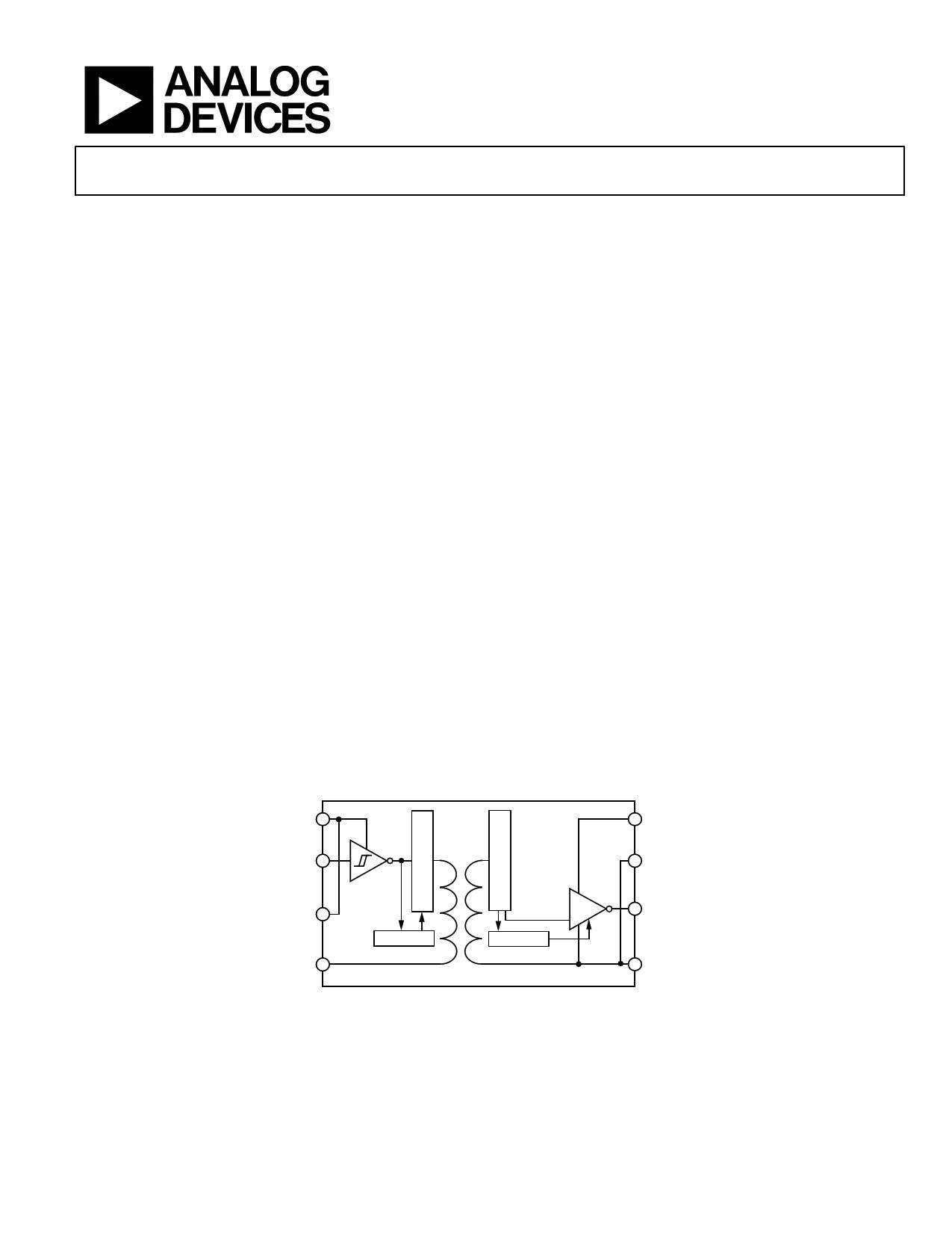 ADUM1100 دیتاشیت PDF