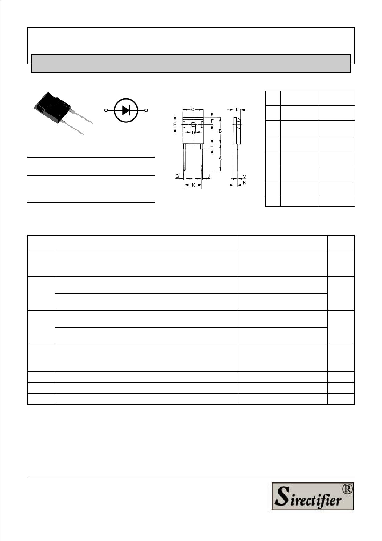 MUR6040 datasheet