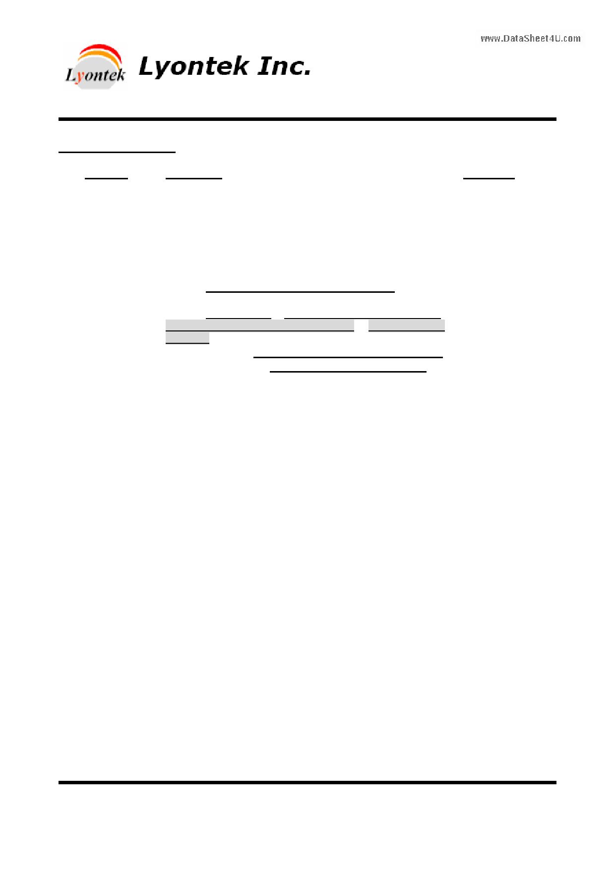 LY6125616 دیتاشیت PDF