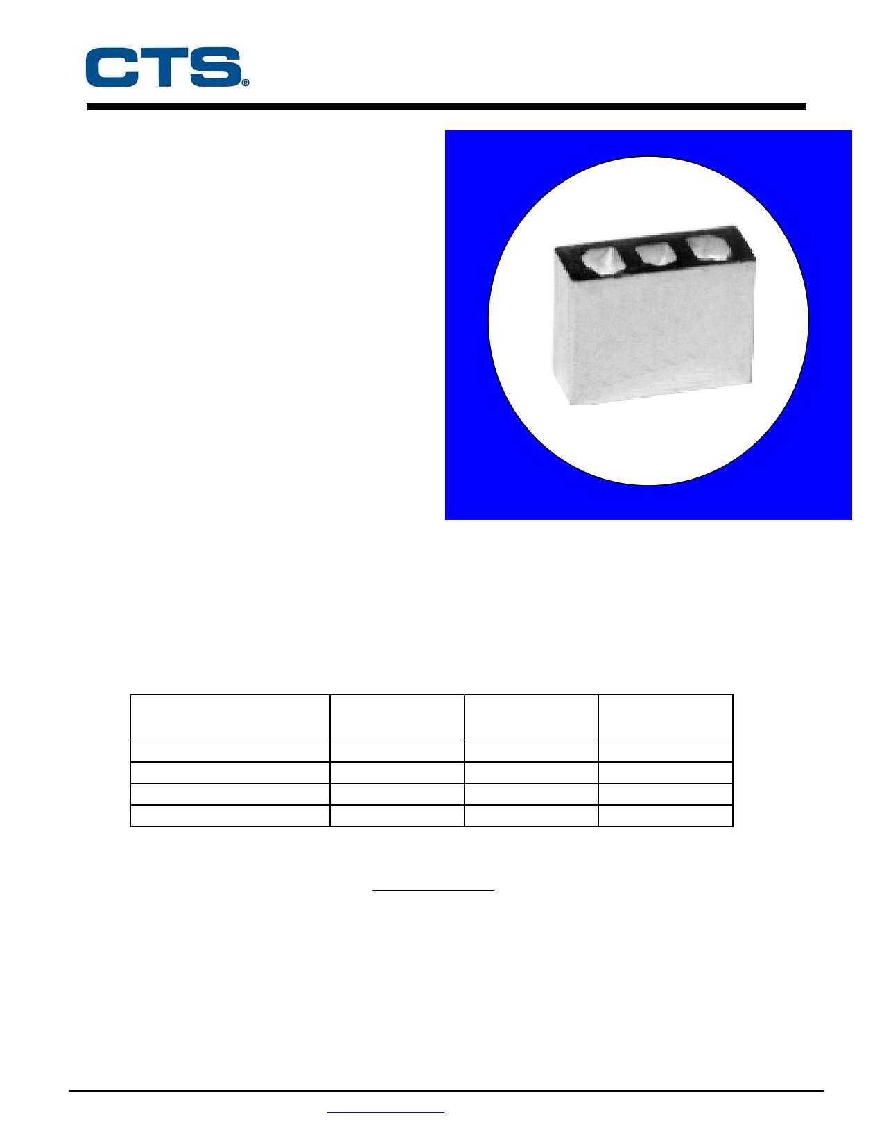 CER0002A 데이터시트 및 CER0002A PDF