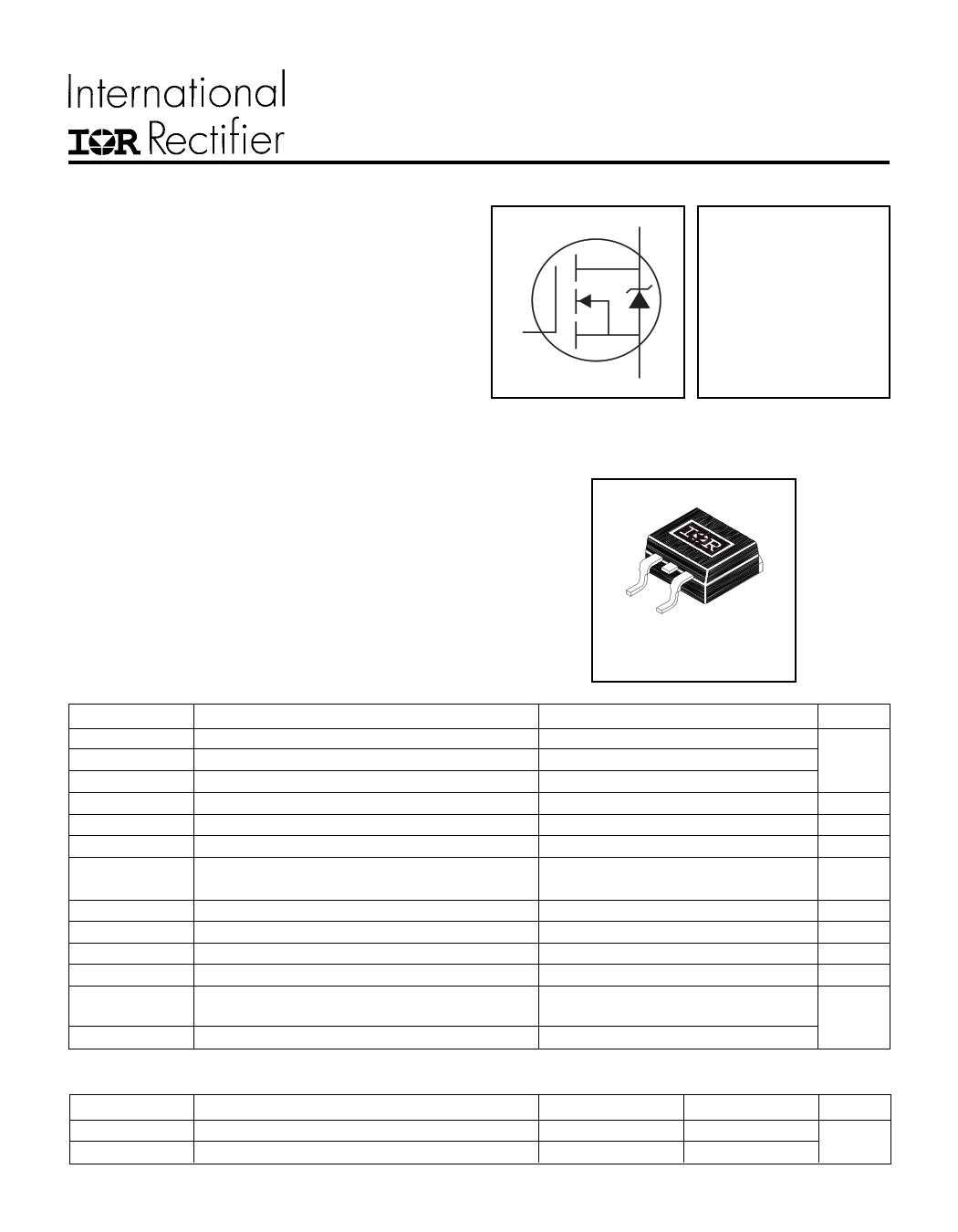 IRL3502S Datasheet, IRL3502S PDF,ピン配置, 機能