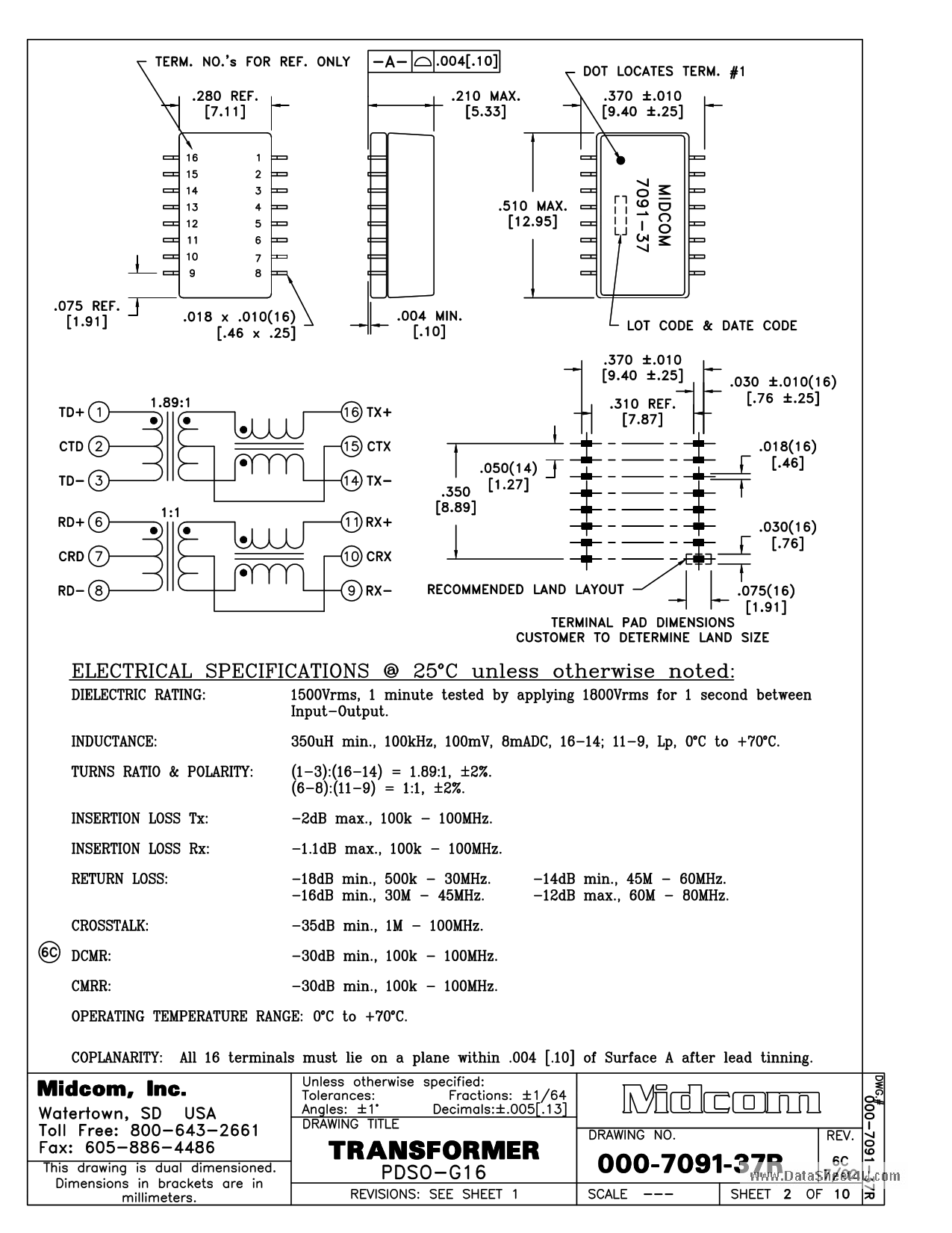 000-7091-37R datasheet