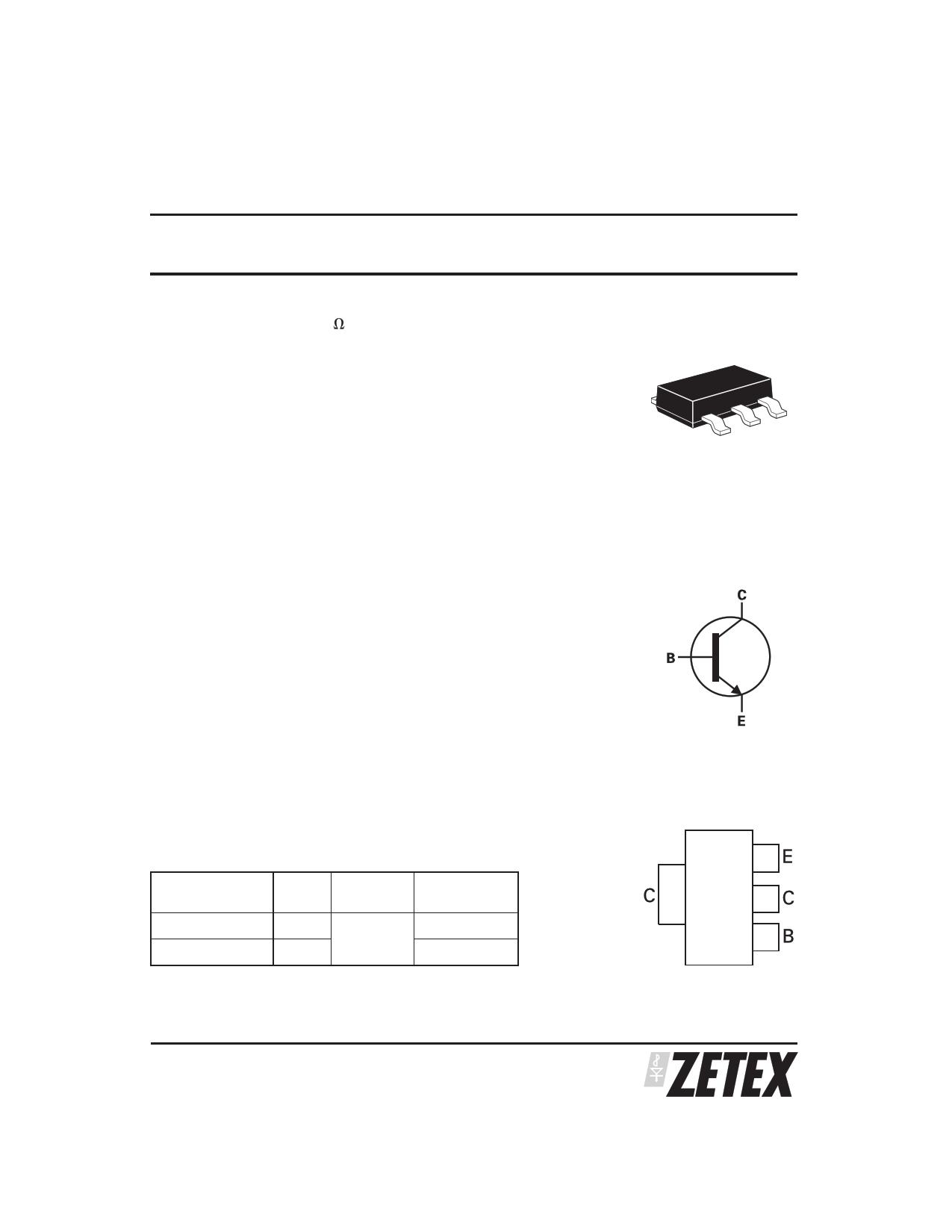 ZX5T851GTC datasheet