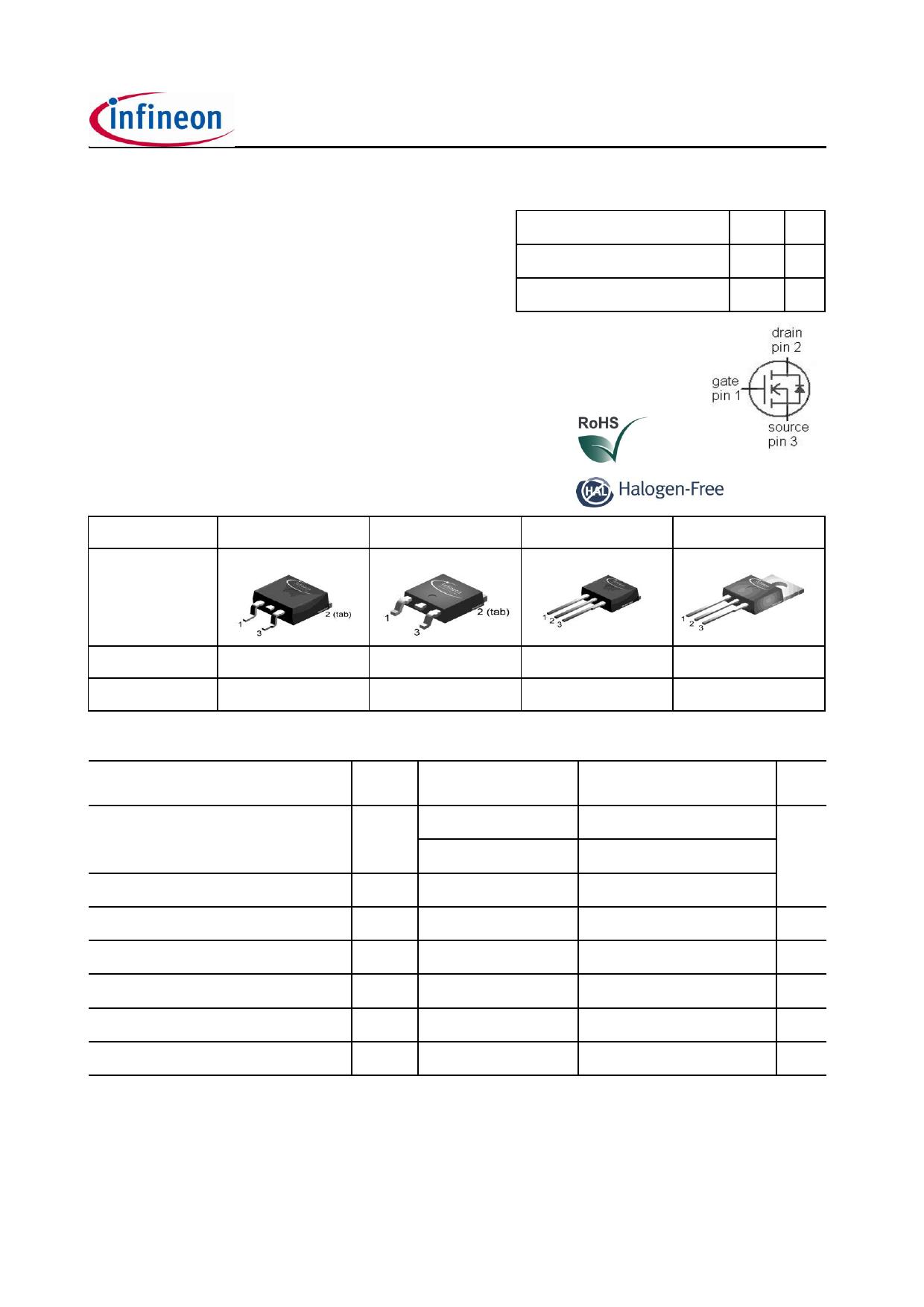 IPB34CN10NG Datasheet, IPB34CN10NG PDF,ピン配置, 機能