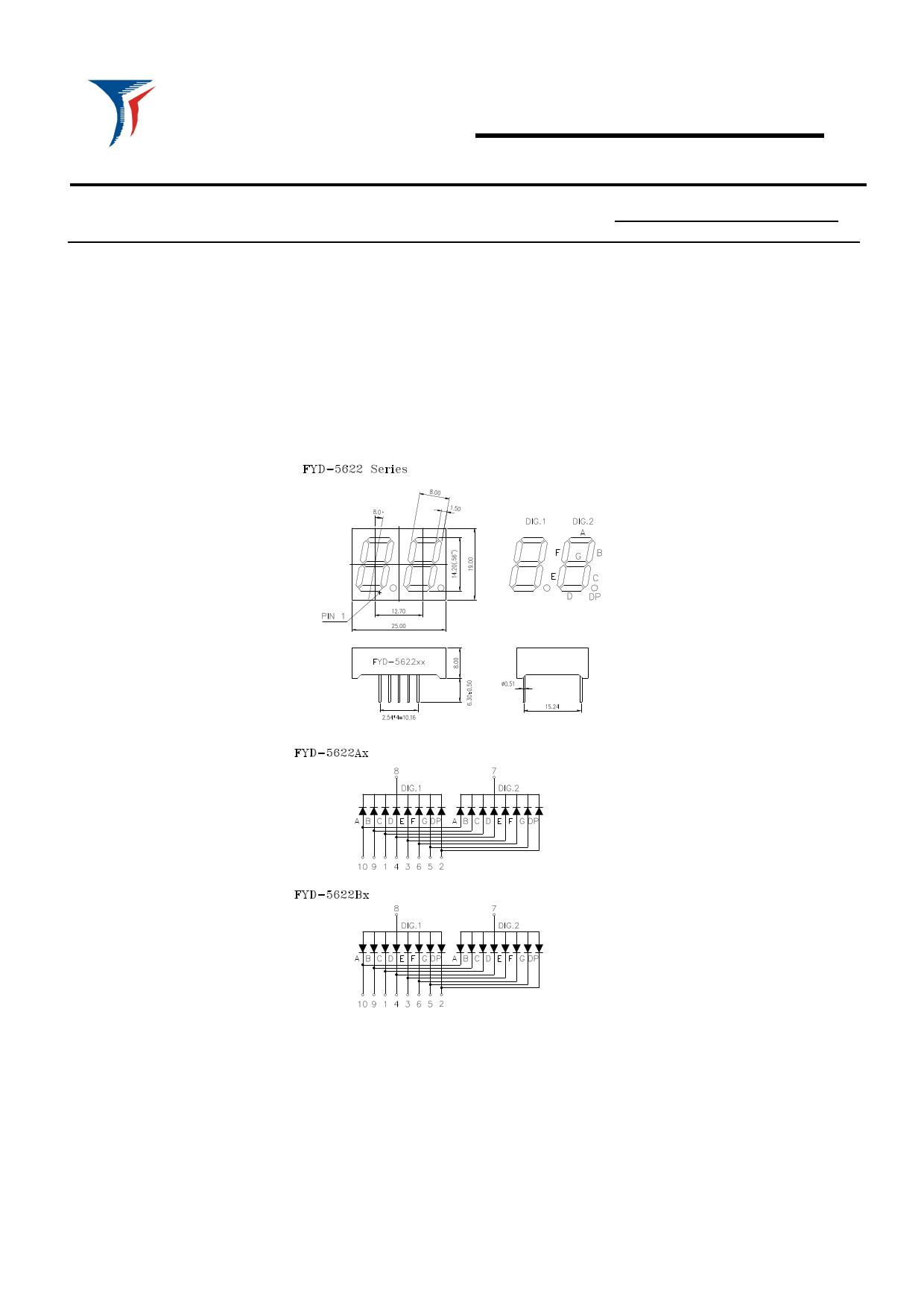FYD-5622AX-xx دیتاشیت PDF
