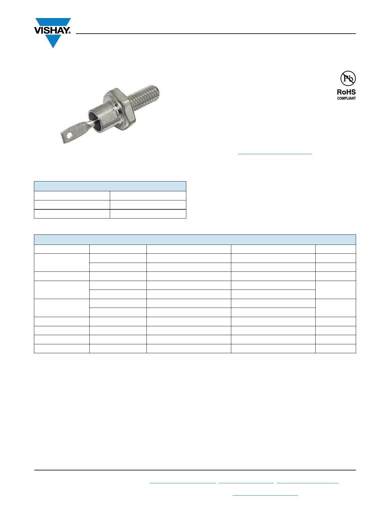 VS-1N3882 datasheet