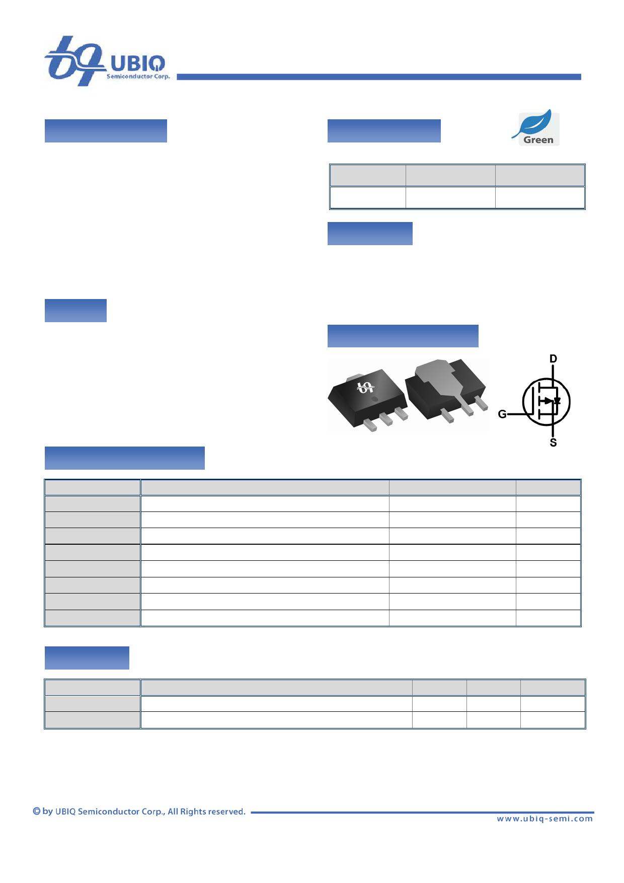 QM3001J Datenblatt PDF