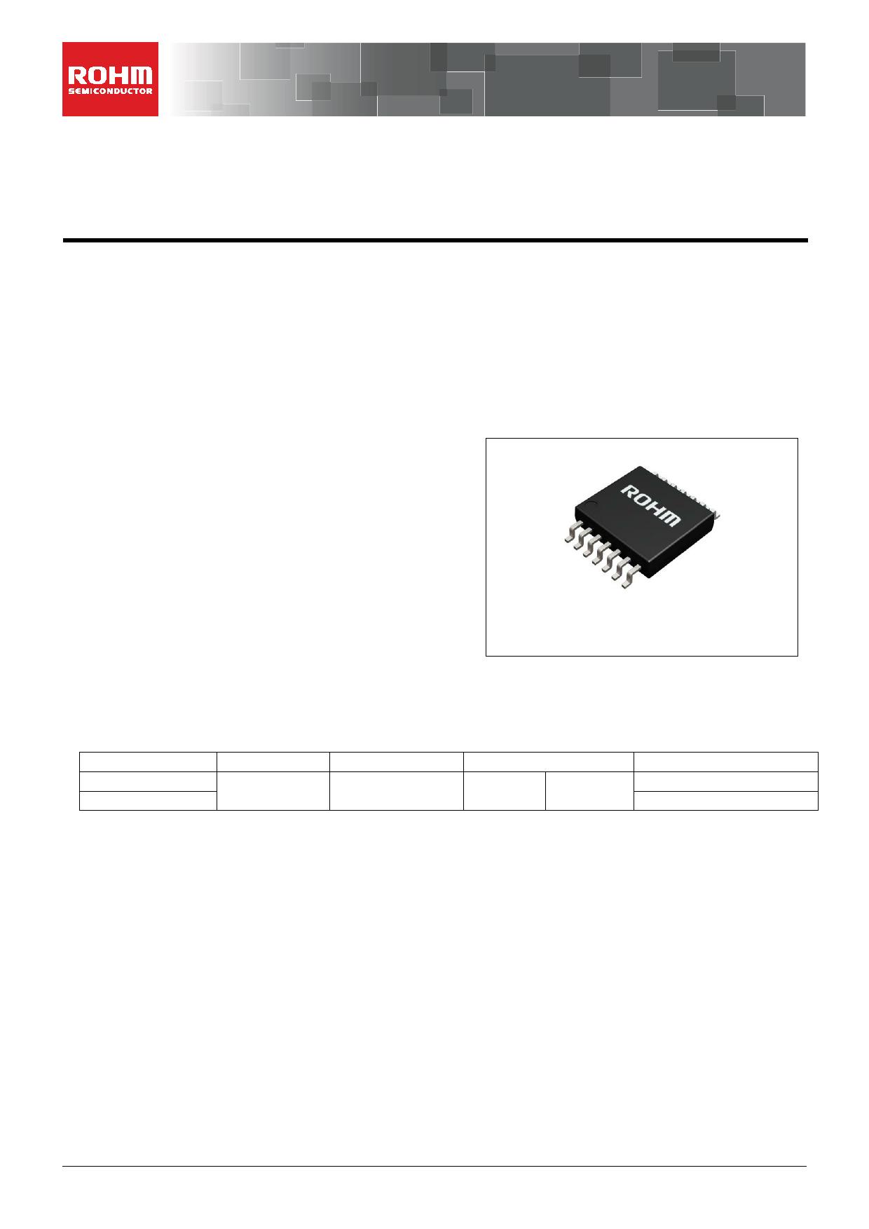 BH2227FV Datasheet, BH2227FV PDF,ピン配置, 機能