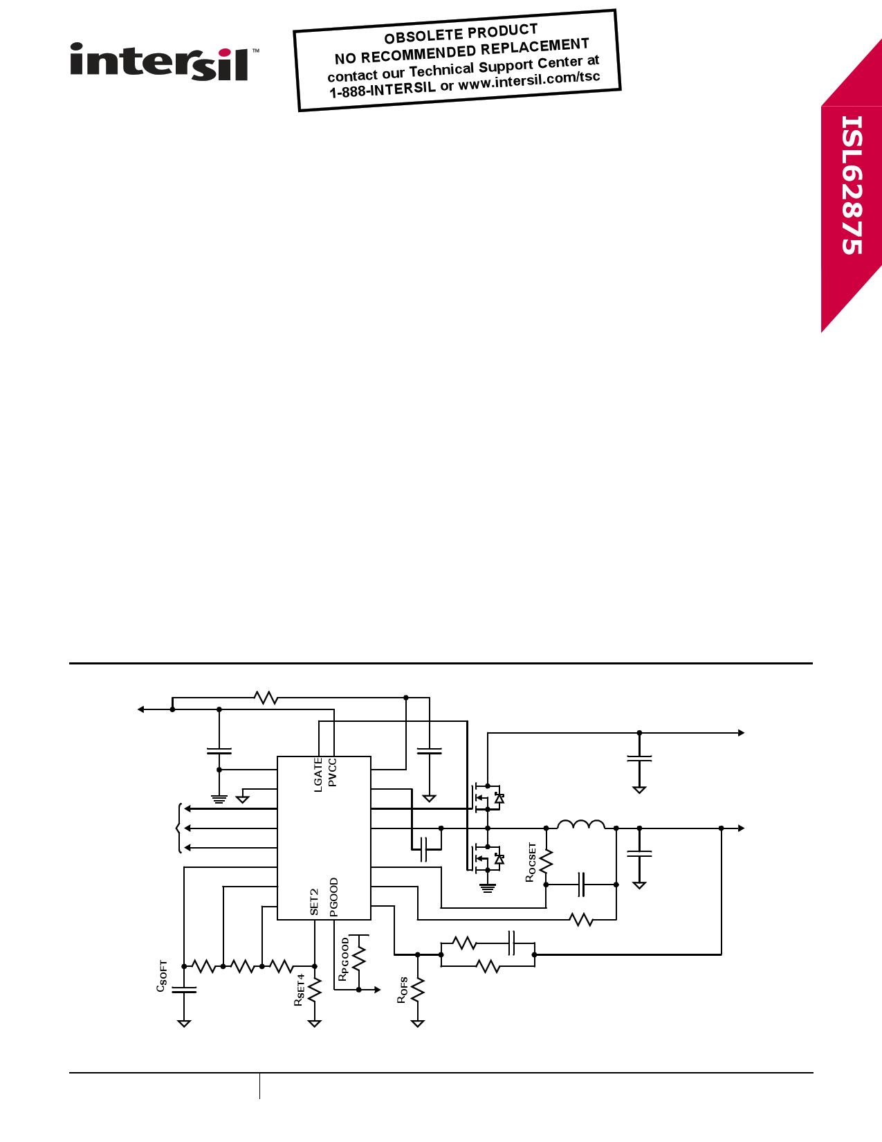 isl62875 datasheet pdf   pinout    dc controller