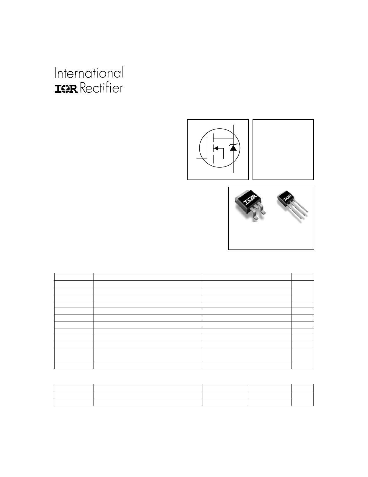 IRFZ44VS Datasheet, IRFZ44VS PDF,ピン配置, 機能