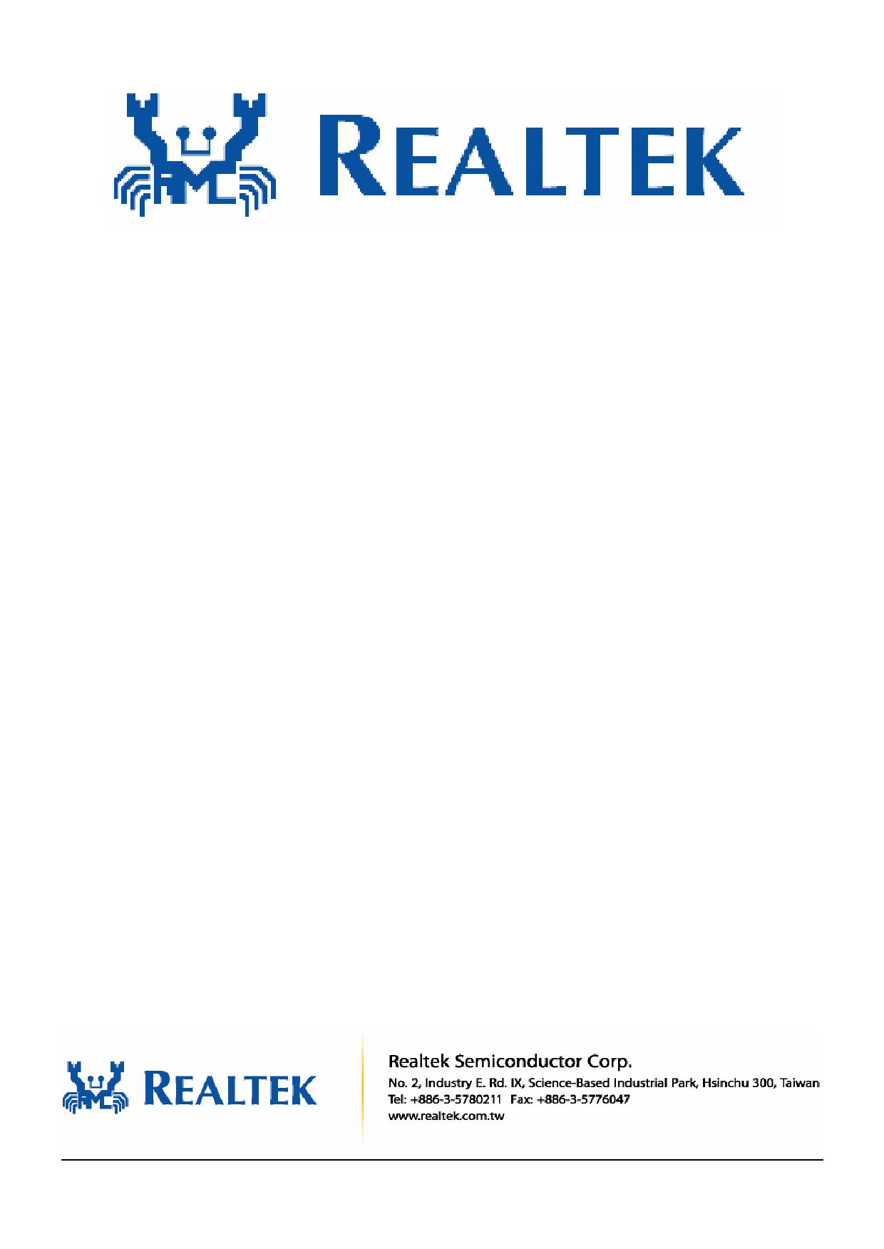 RTL8671B datasheet image