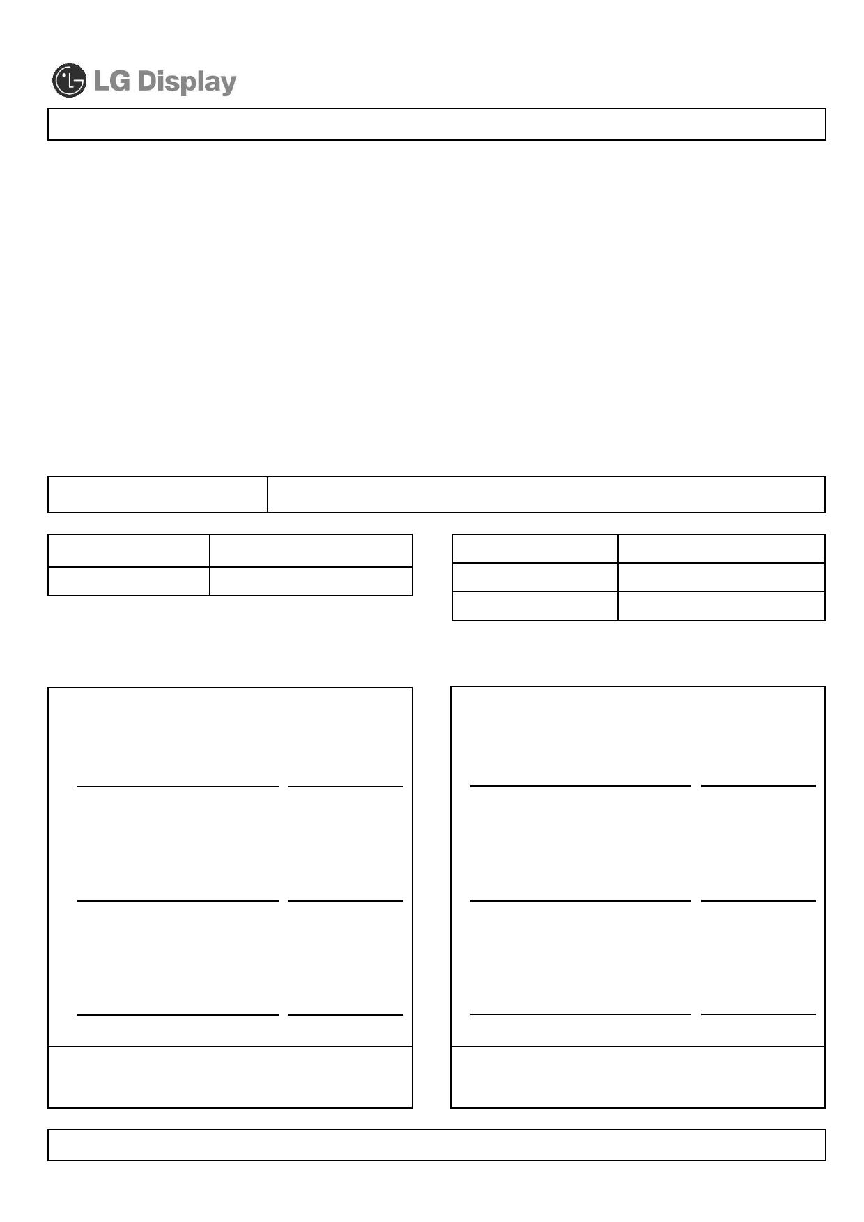 LC420WUD-SBM4 دیتاشیت PDF