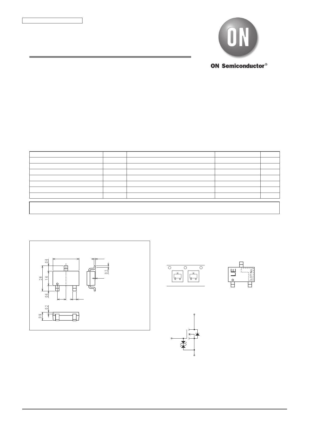 CPH3448 Даташит, Описание, Даташиты