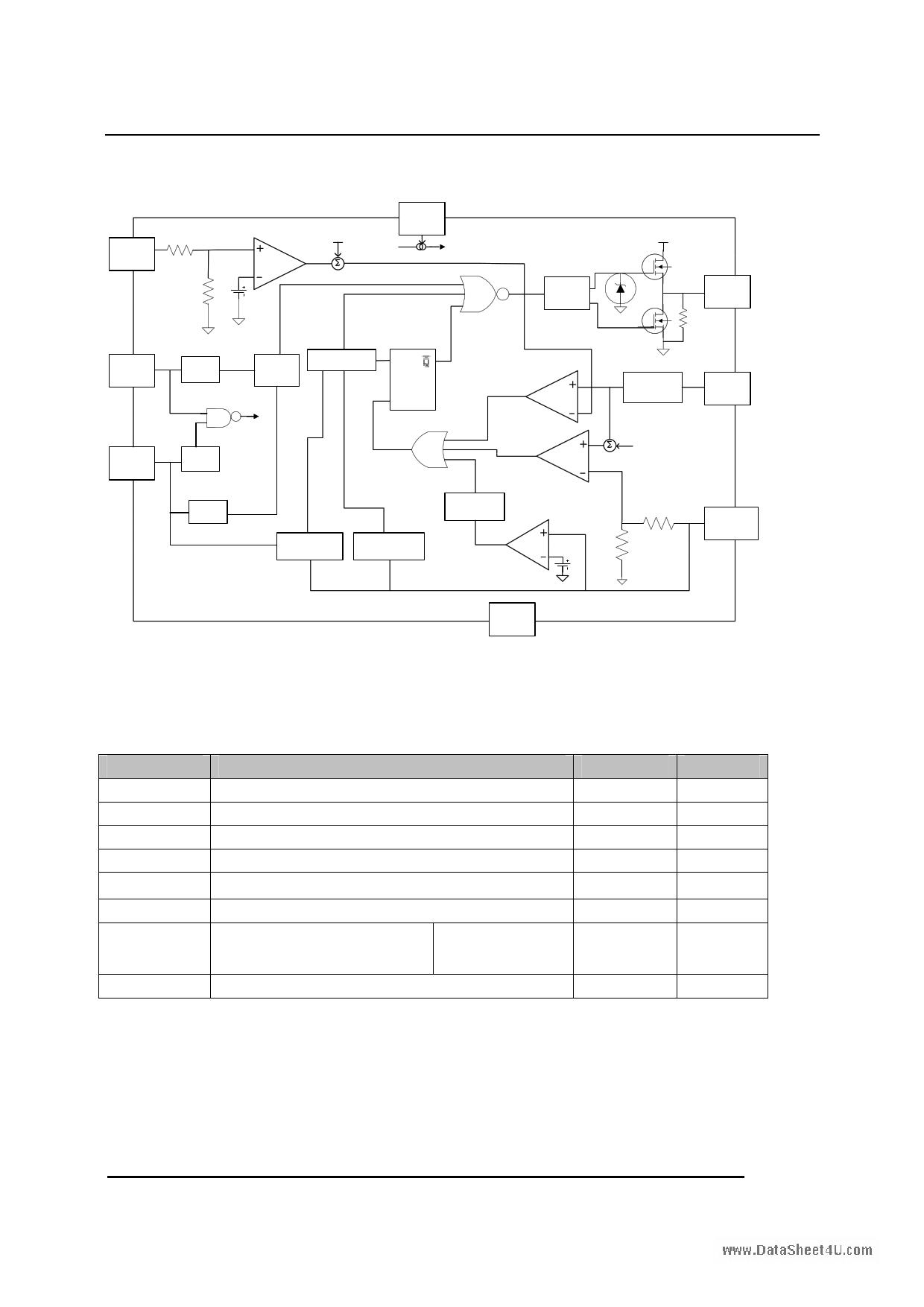 CR6842 pdf, ピン配列