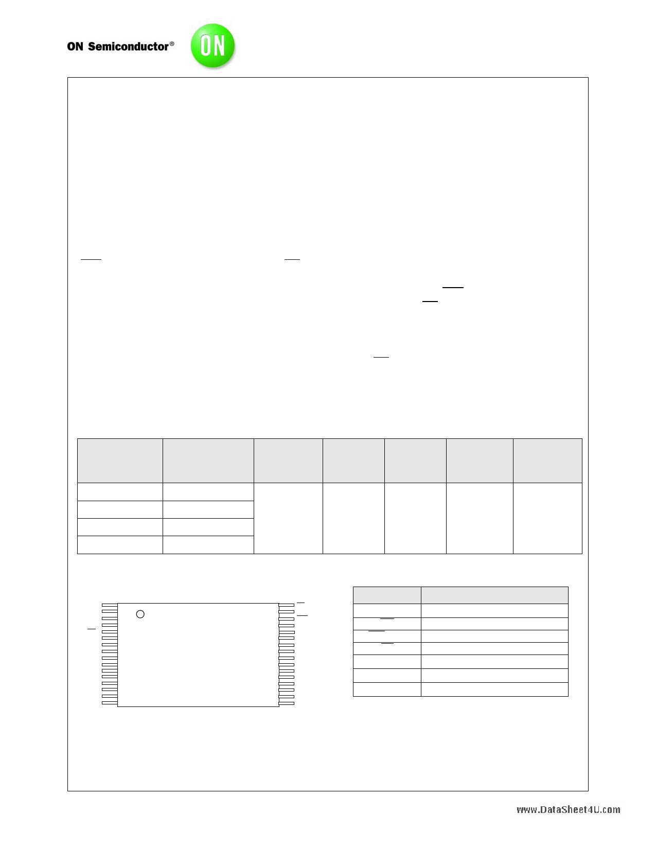 N02L83W2A Hoja de datos, Descripción, Manual
