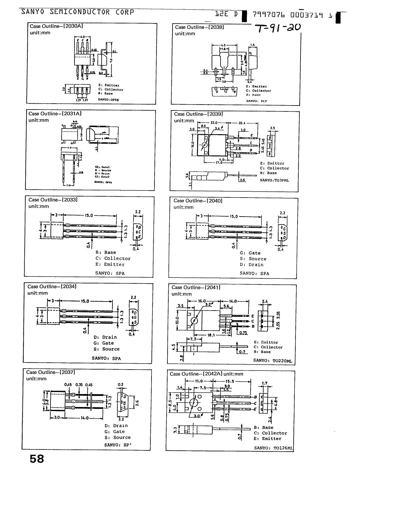 C1571 電子部品, 半導体