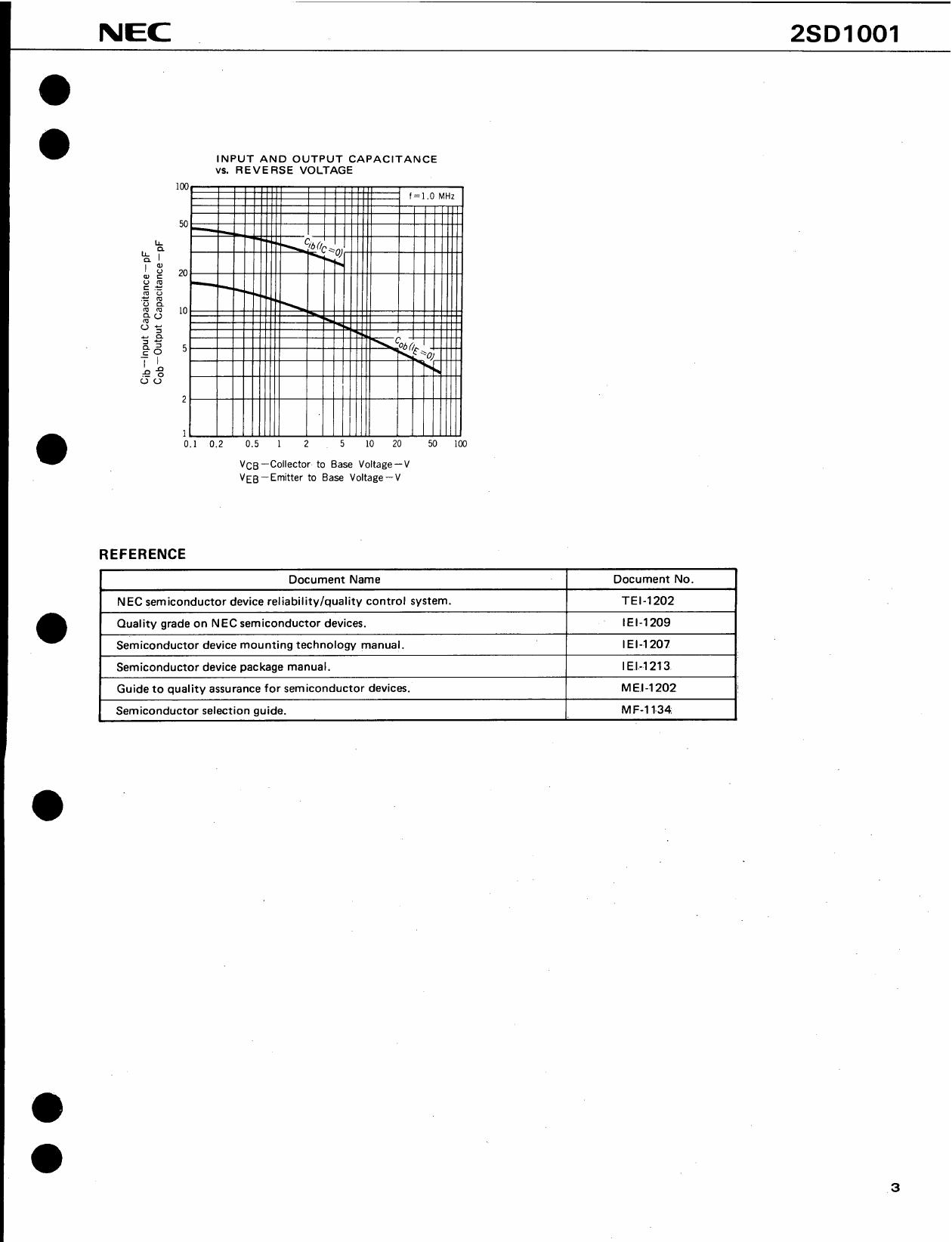 D1001 pdf, 電子部品, 半導体, ピン配列