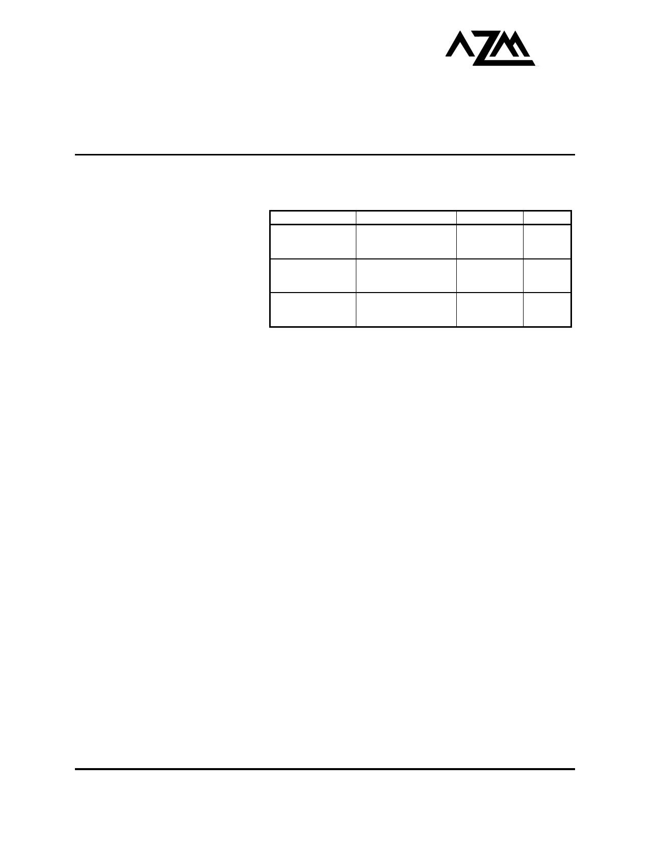 AZ10LVE111 دیتاشیت PDF