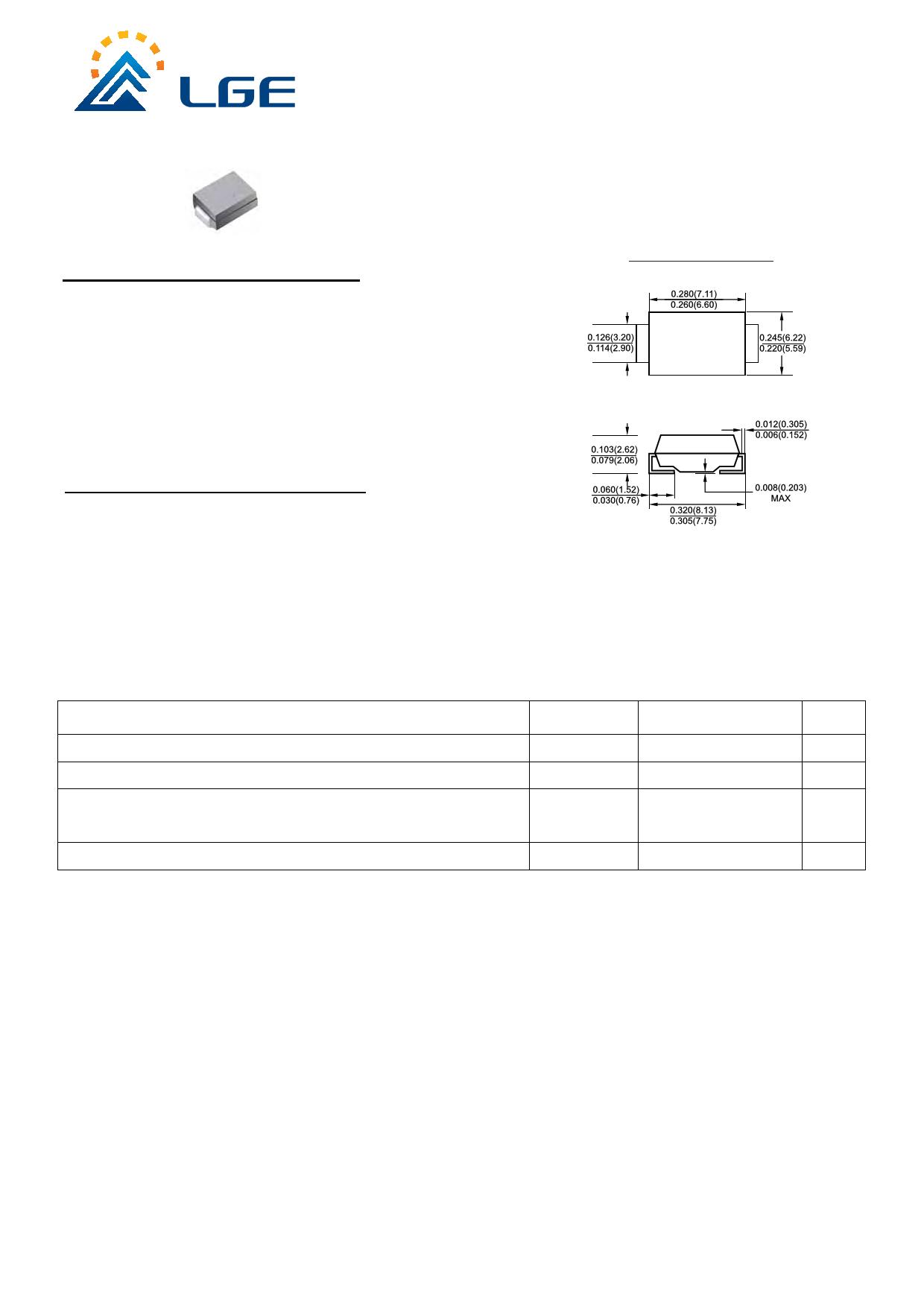 3.0SMCJ190C Datasheet, 3.0SMCJ190C PDF,ピン配置, 機能