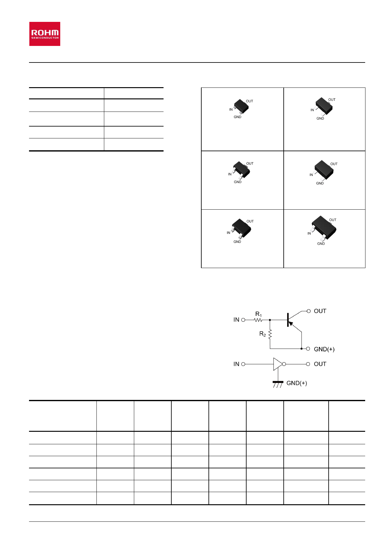 DTA124EKA Datasheet, DTA124EKA PDF,ピン配置, 機能
