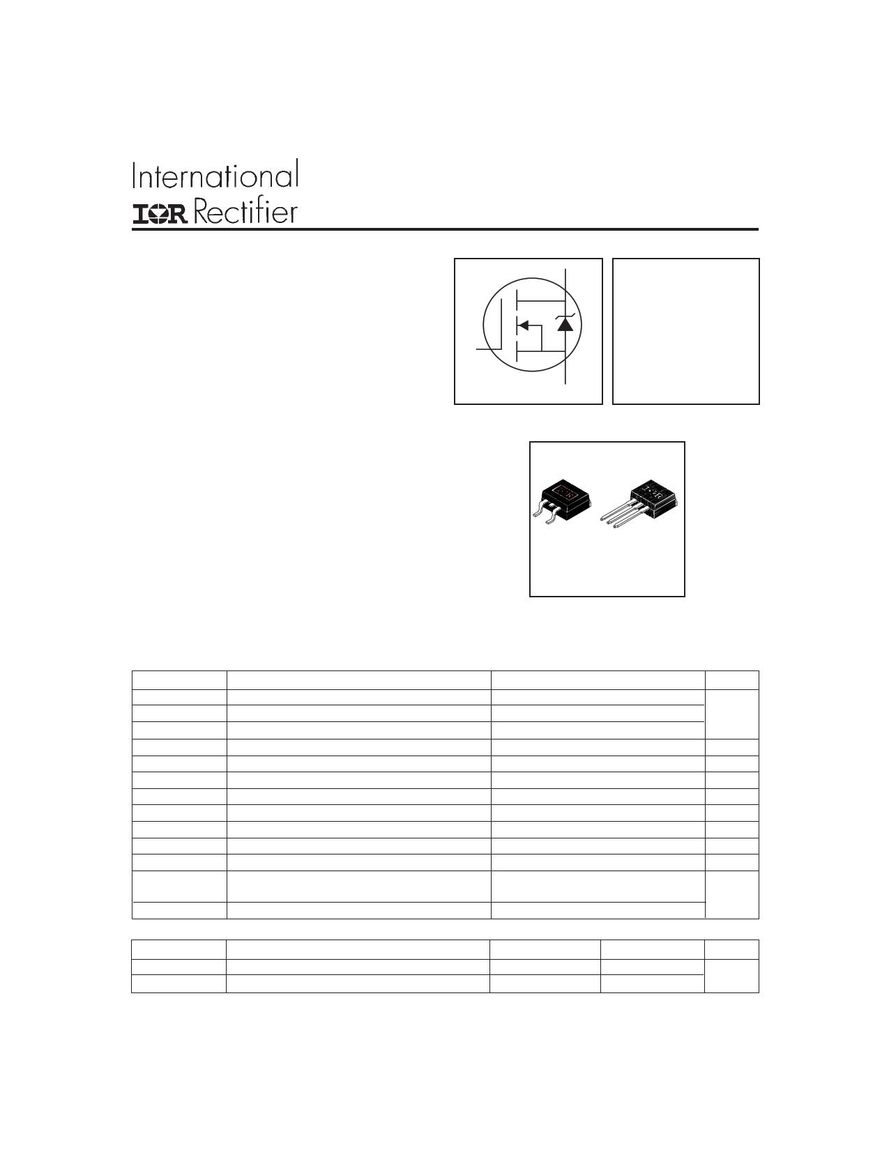 IRL530NL Datasheet, IRL530NL PDF,ピン配置, 機能