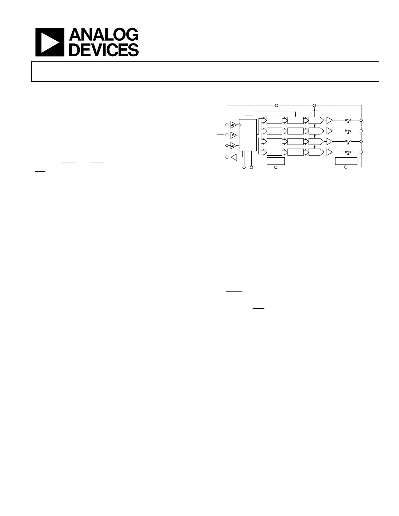 AD5666 Даташит, Описание, Даташиты