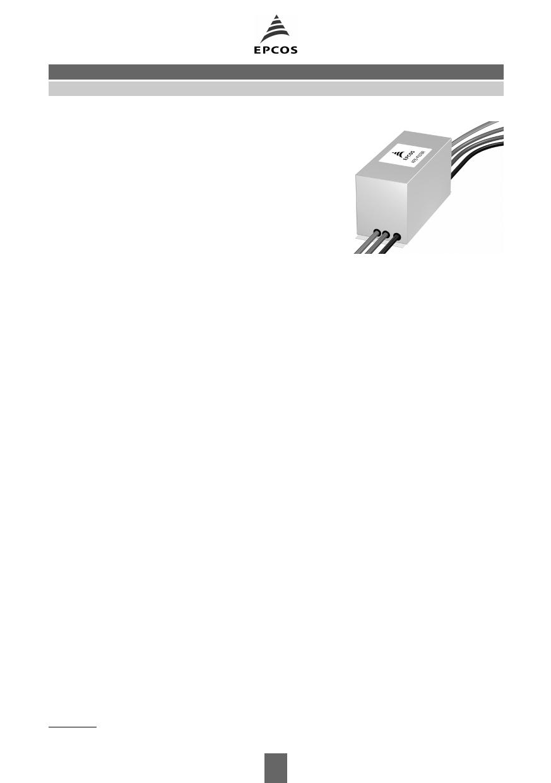 B84143-AFE2 datasheet