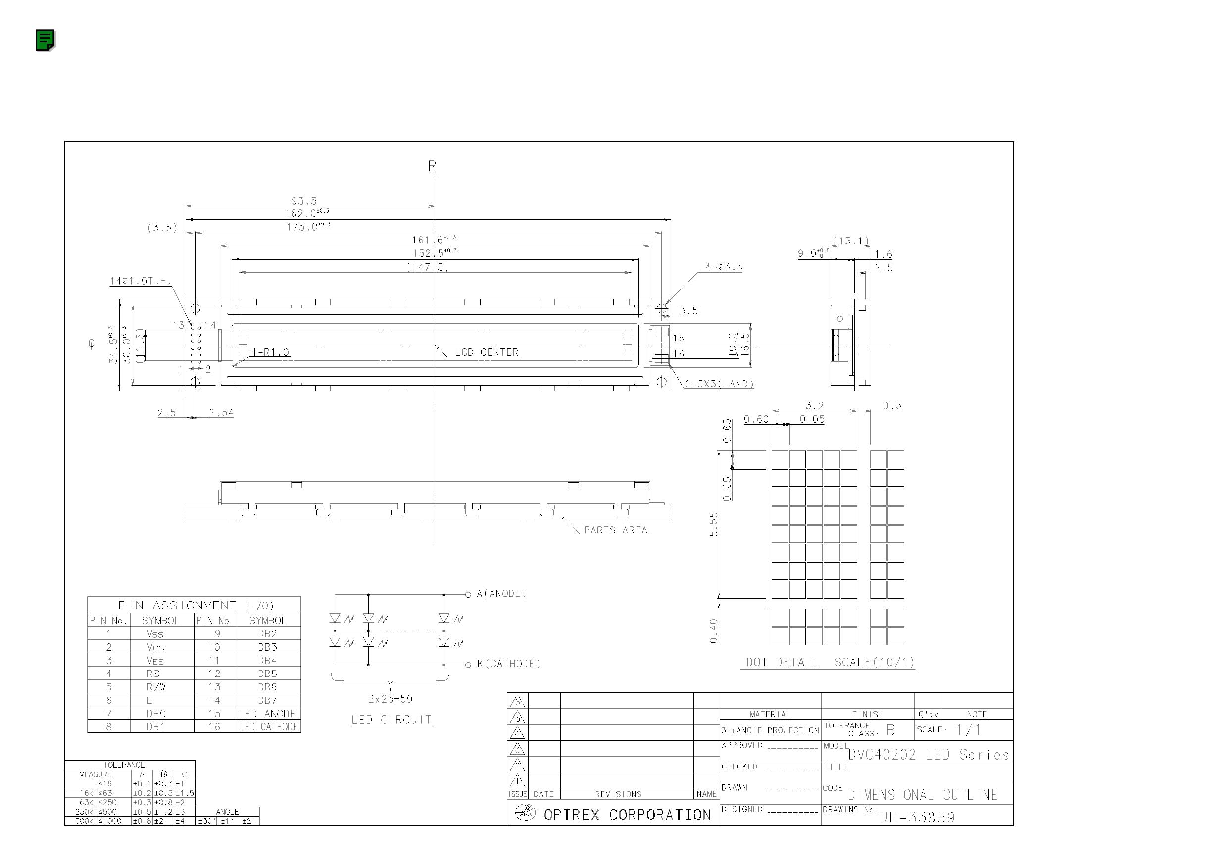 DMC40202 datasheet