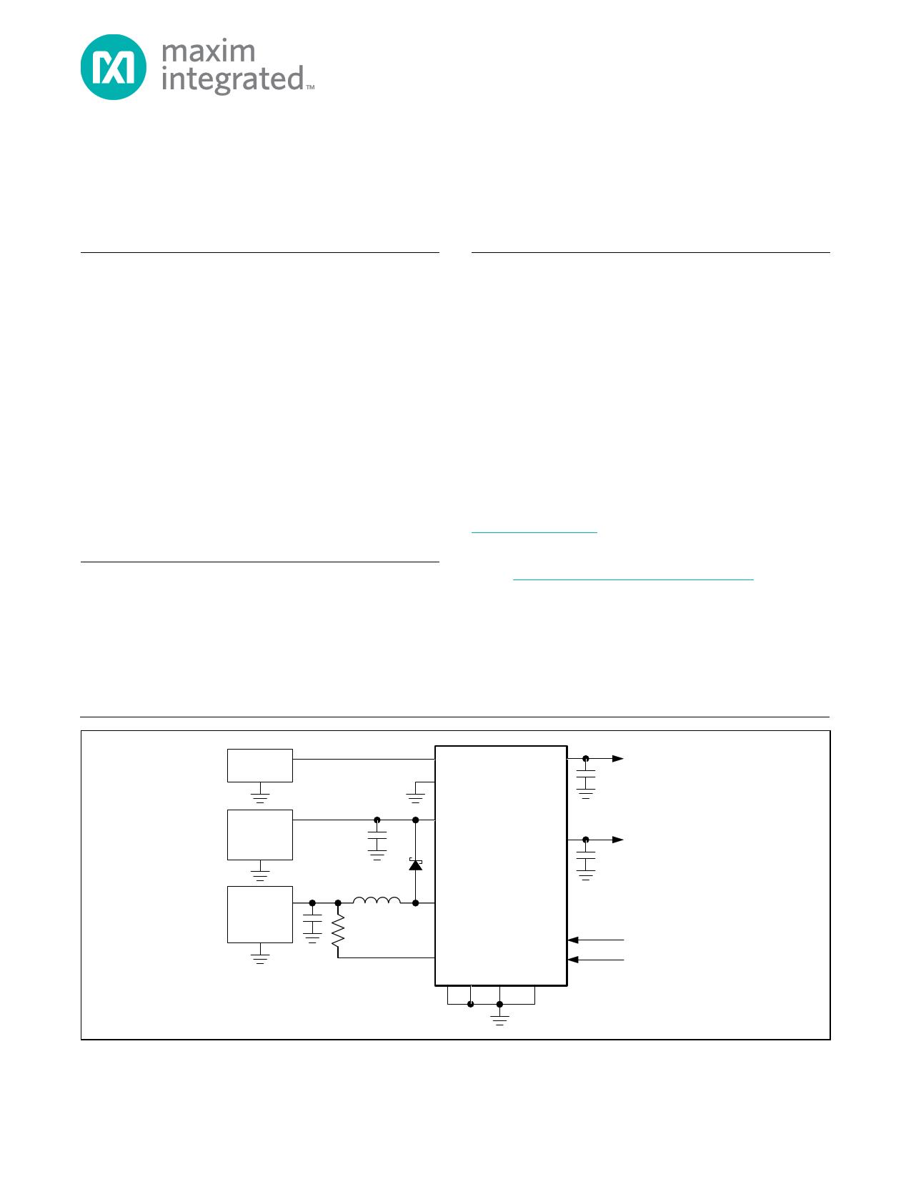 MAX17710 دیتاشیت PDF