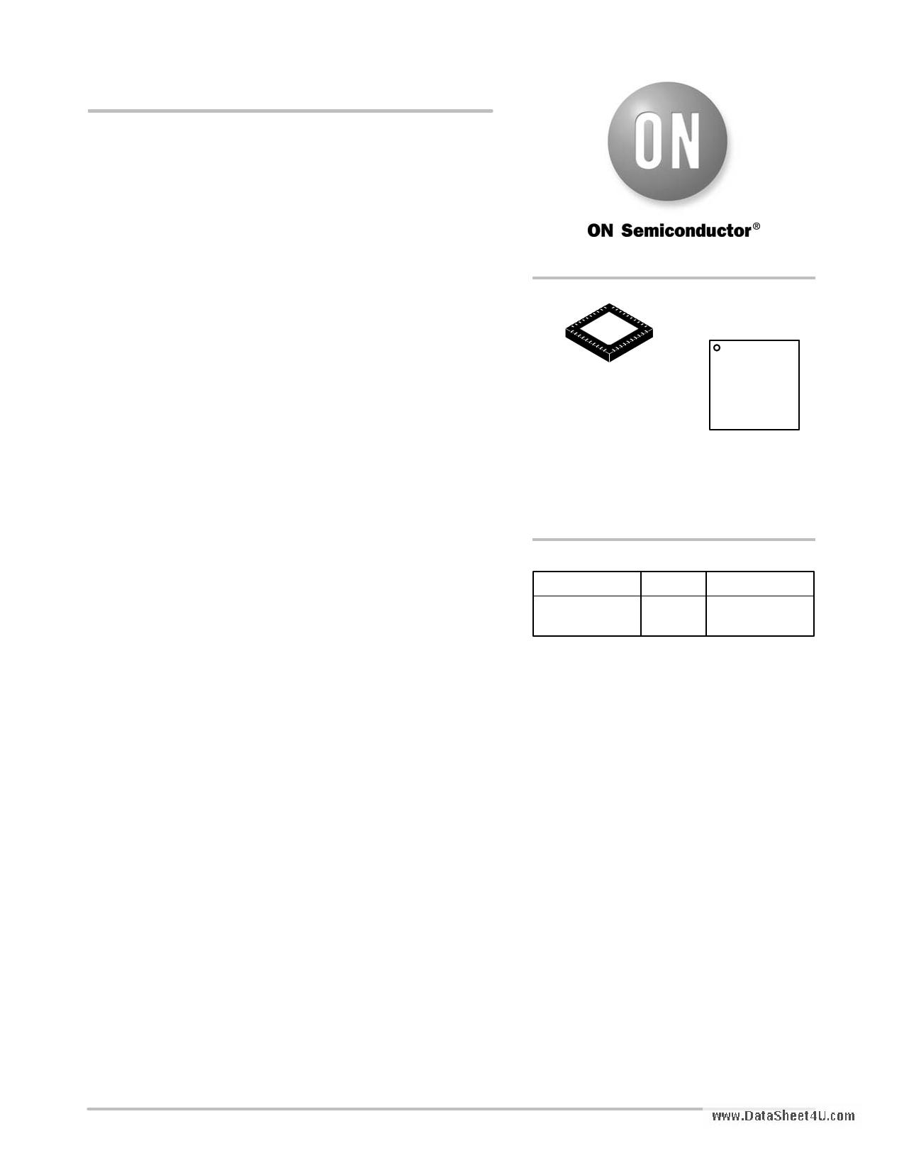 NCV8855 دیتاشیت PDF