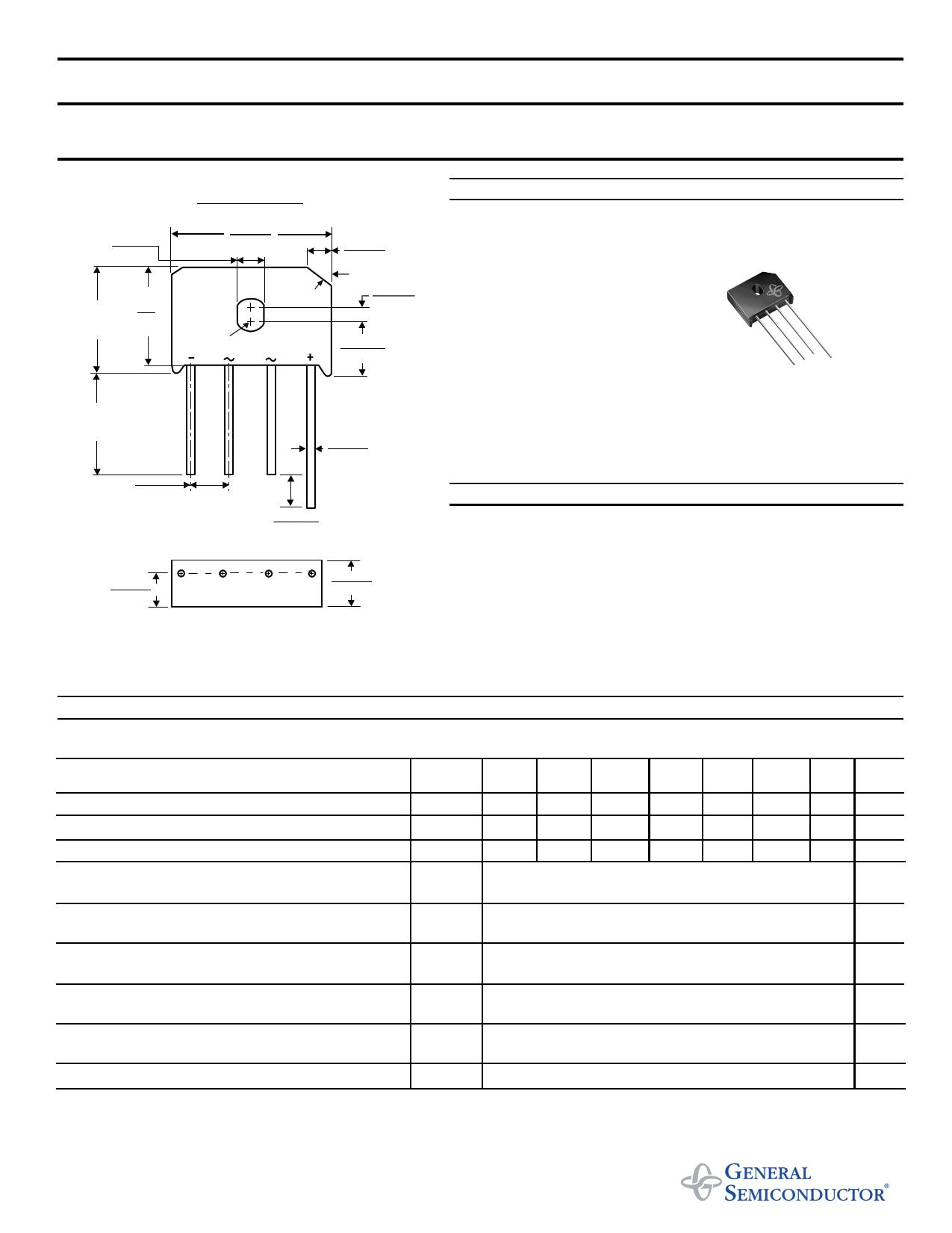 KBU4J datasheet